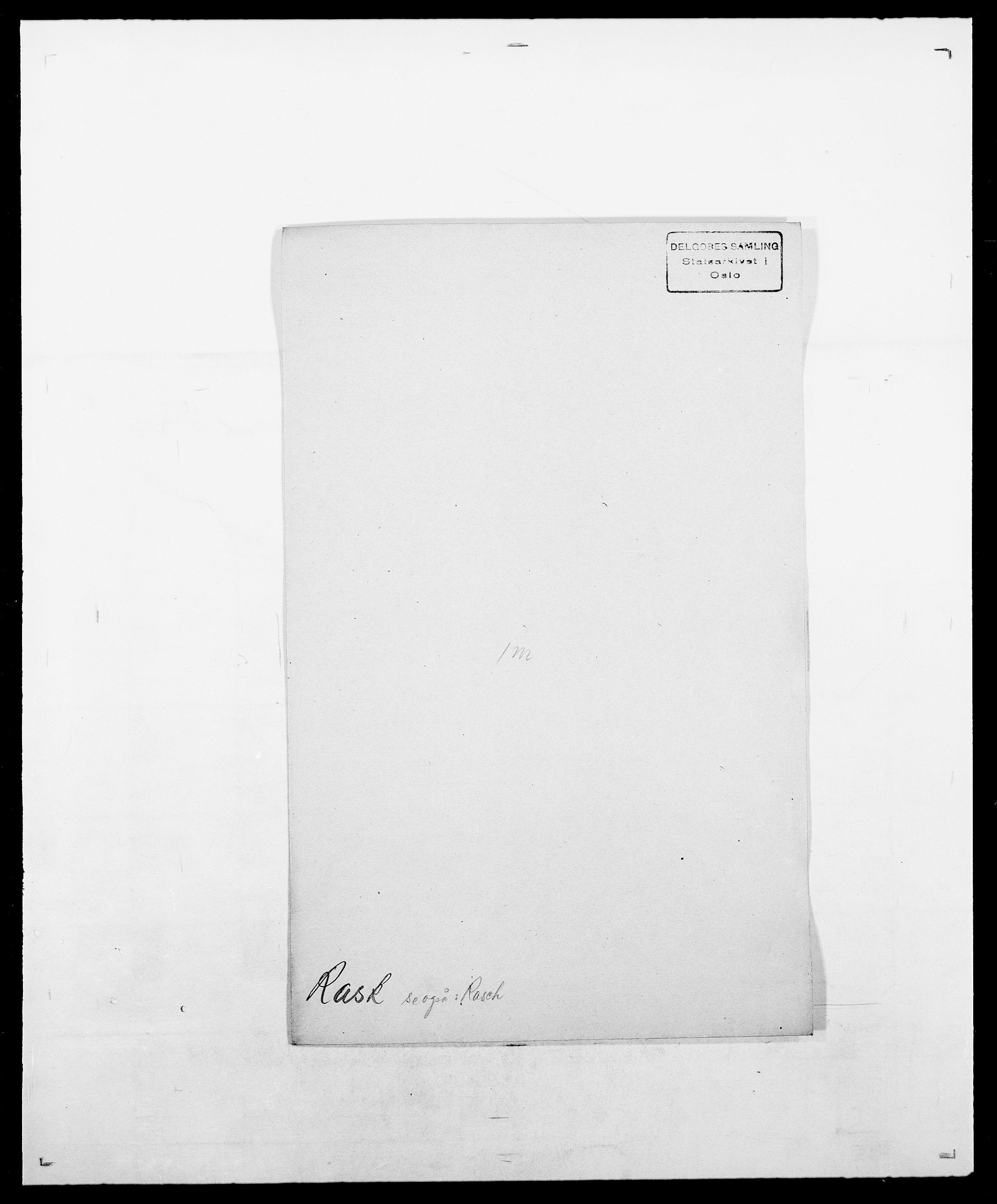 SAO, Delgobe, Charles Antoine - samling, D/Da/L0032: Rabakovsky - Rivertz, s. 171