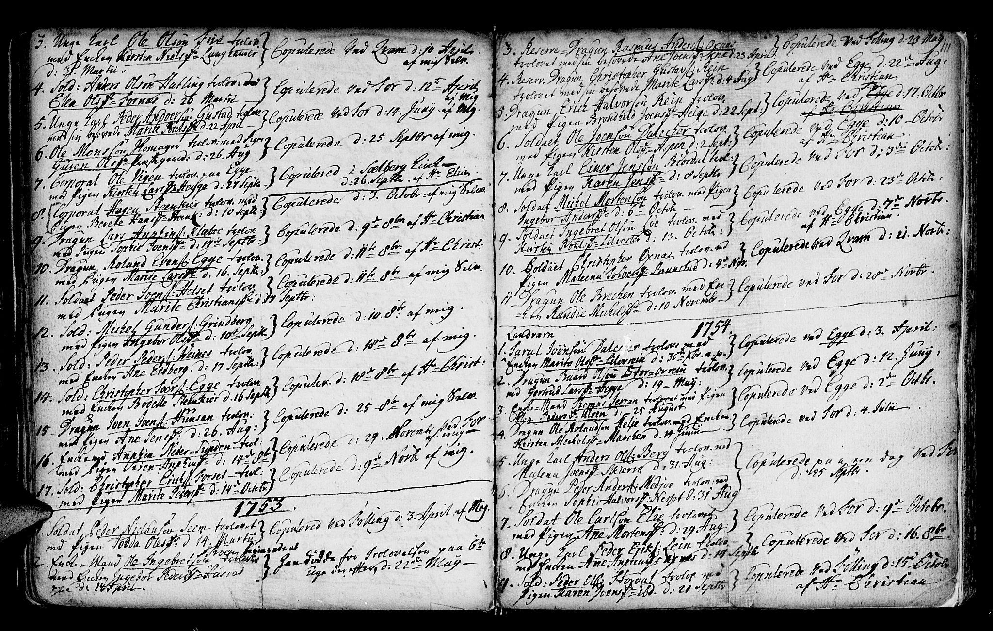 SAT, Ministerialprotokoller, klokkerbøker og fødselsregistre - Nord-Trøndelag, 746/L0439: Ministerialbok nr. 746A01, 1688-1759, s. 111