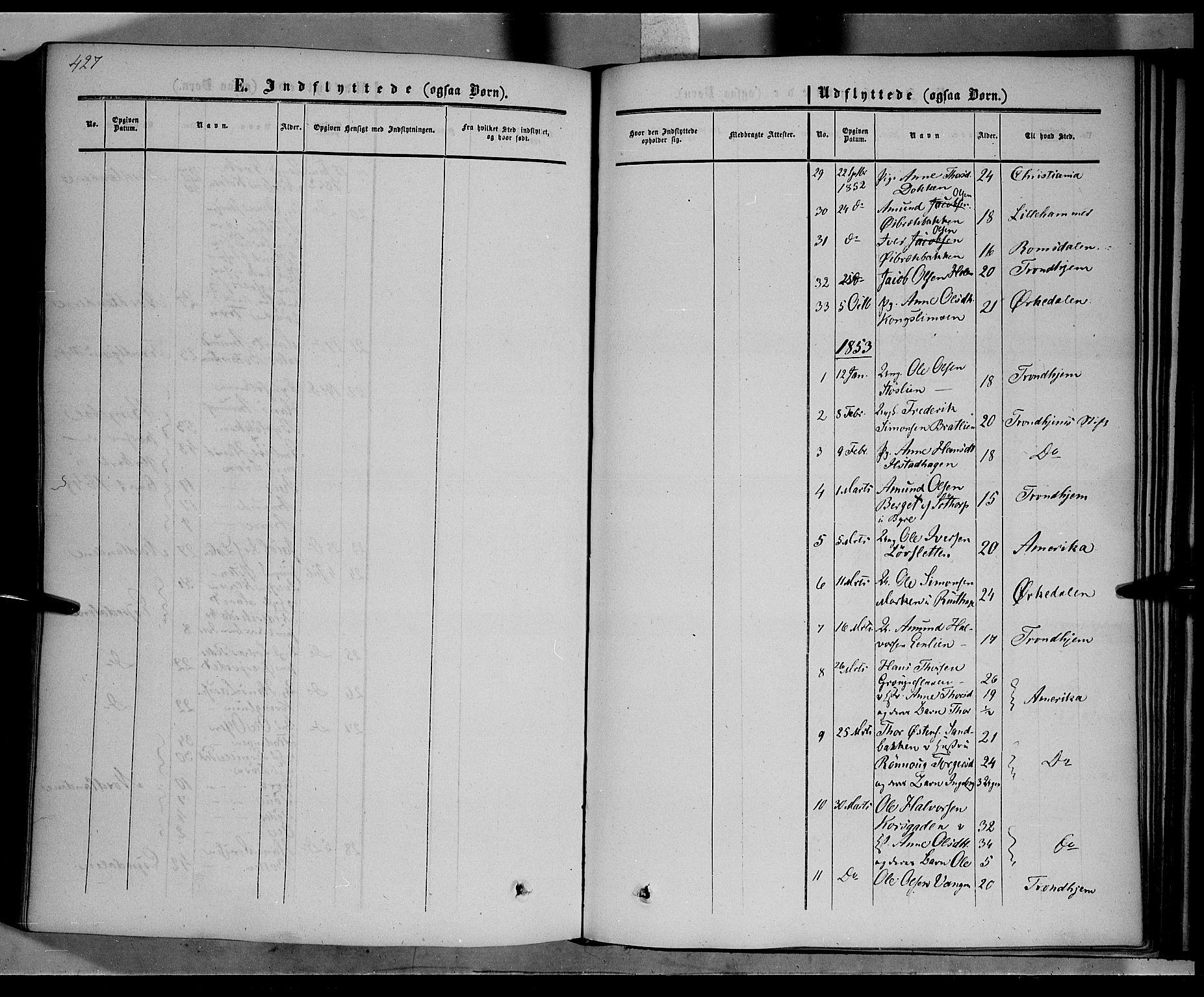 SAH, Nord-Fron prestekontor, Ministerialbok nr. 1, 1851-1864, s. 427