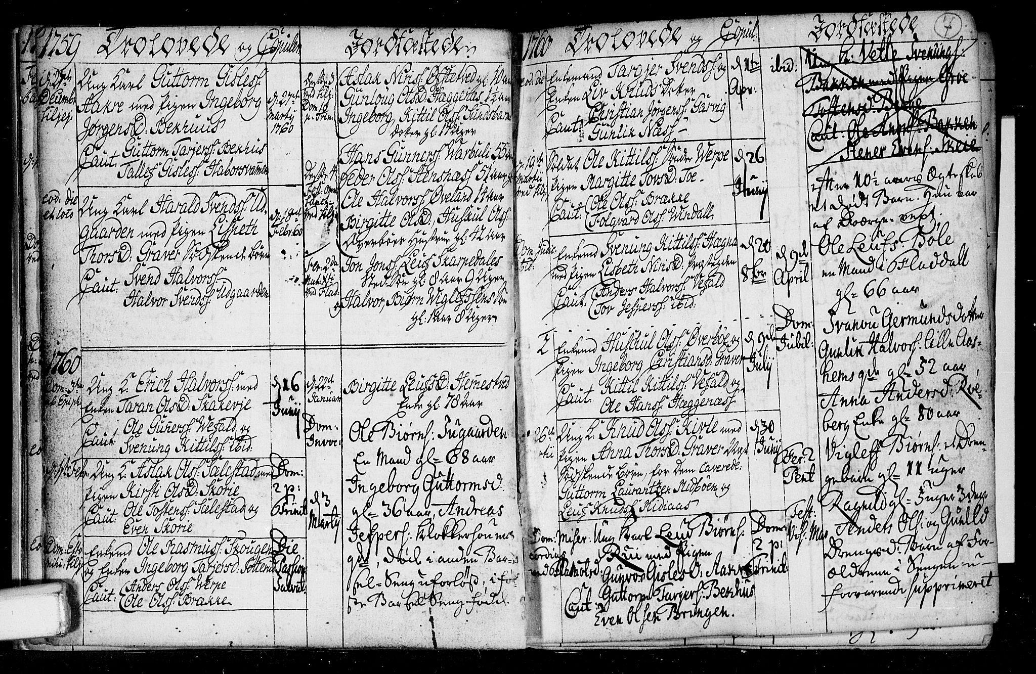 SAKO, Seljord kirkebøker, F/Fa/L0008: Ministerialbok nr. I 8, 1755-1814, s. 7