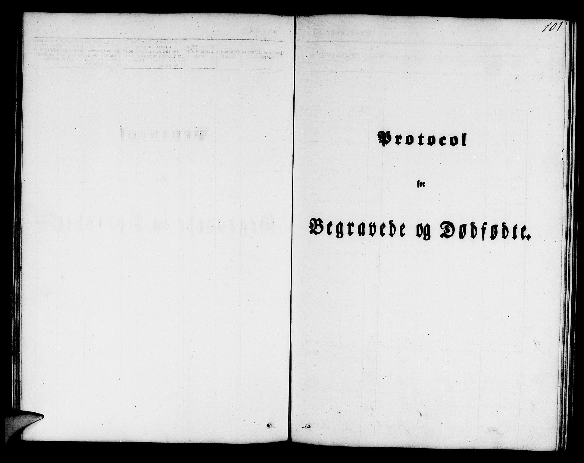 SAB, Mariakirken Sokneprestembete, H/Hab/L0002: Klokkerbok nr. A 2, 1846-1862, s. 101