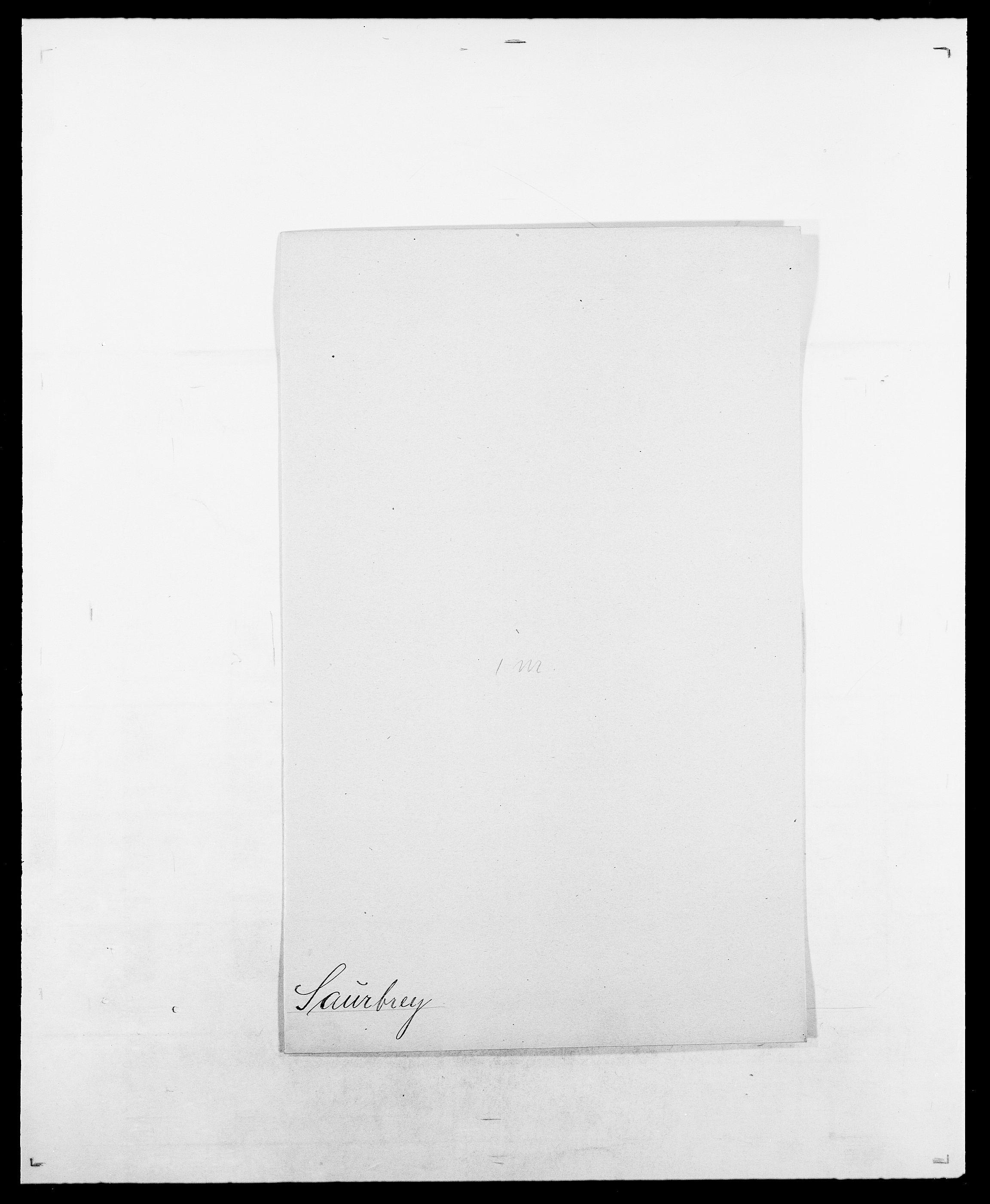 SAO, Delgobe, Charles Antoine - samling, D/Da/L0034: Saabye - Schmincke, s. 222