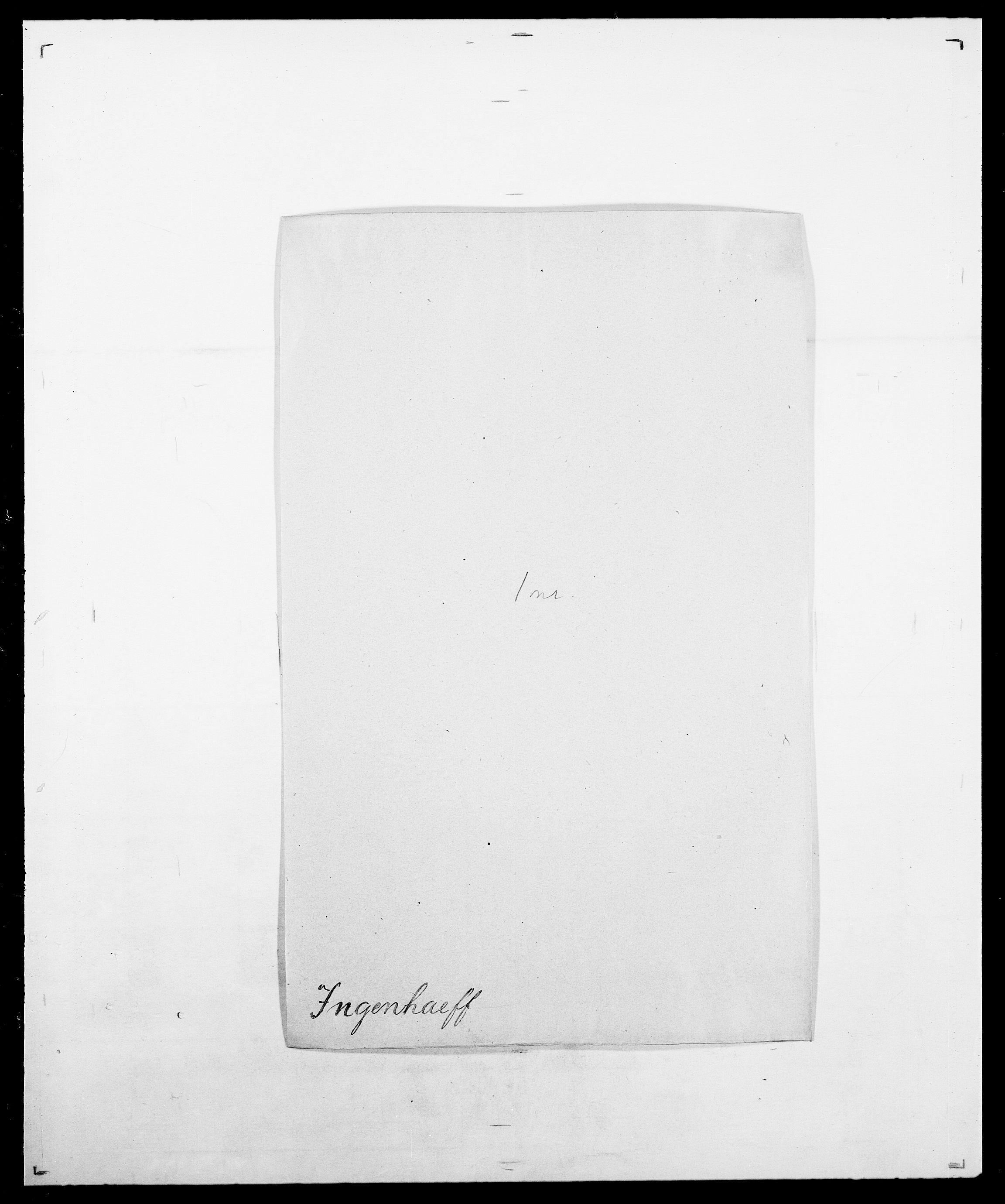 SAO, Delgobe, Charles Antoine - samling, D/Da/L0019: van der Hude - Joys, s. 784