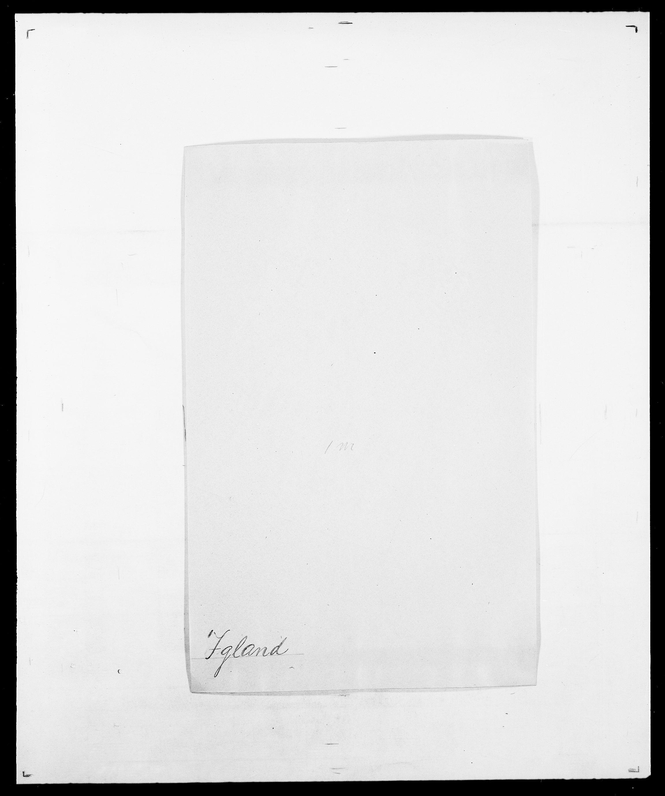 SAO, Delgobe, Charles Antoine - samling, D/Da/L0019: van der Hude - Joys, s. 757