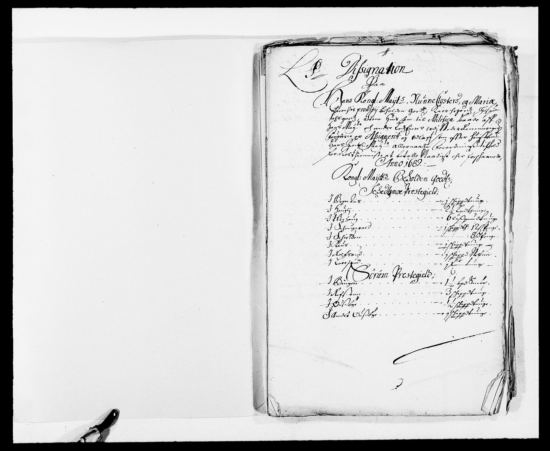 RA, Rentekammeret inntil 1814, Reviderte regnskaper, Fogderegnskap, R11/L0570: Fogderegnskap Nedre Romerike, 1682, s. 256
