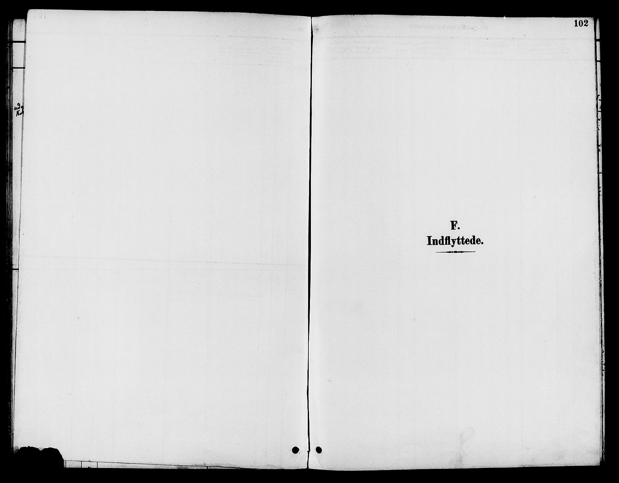 SAH, Nord-Aurdal prestekontor, Klokkerbok nr. 10, 1892-1907, s. 102
