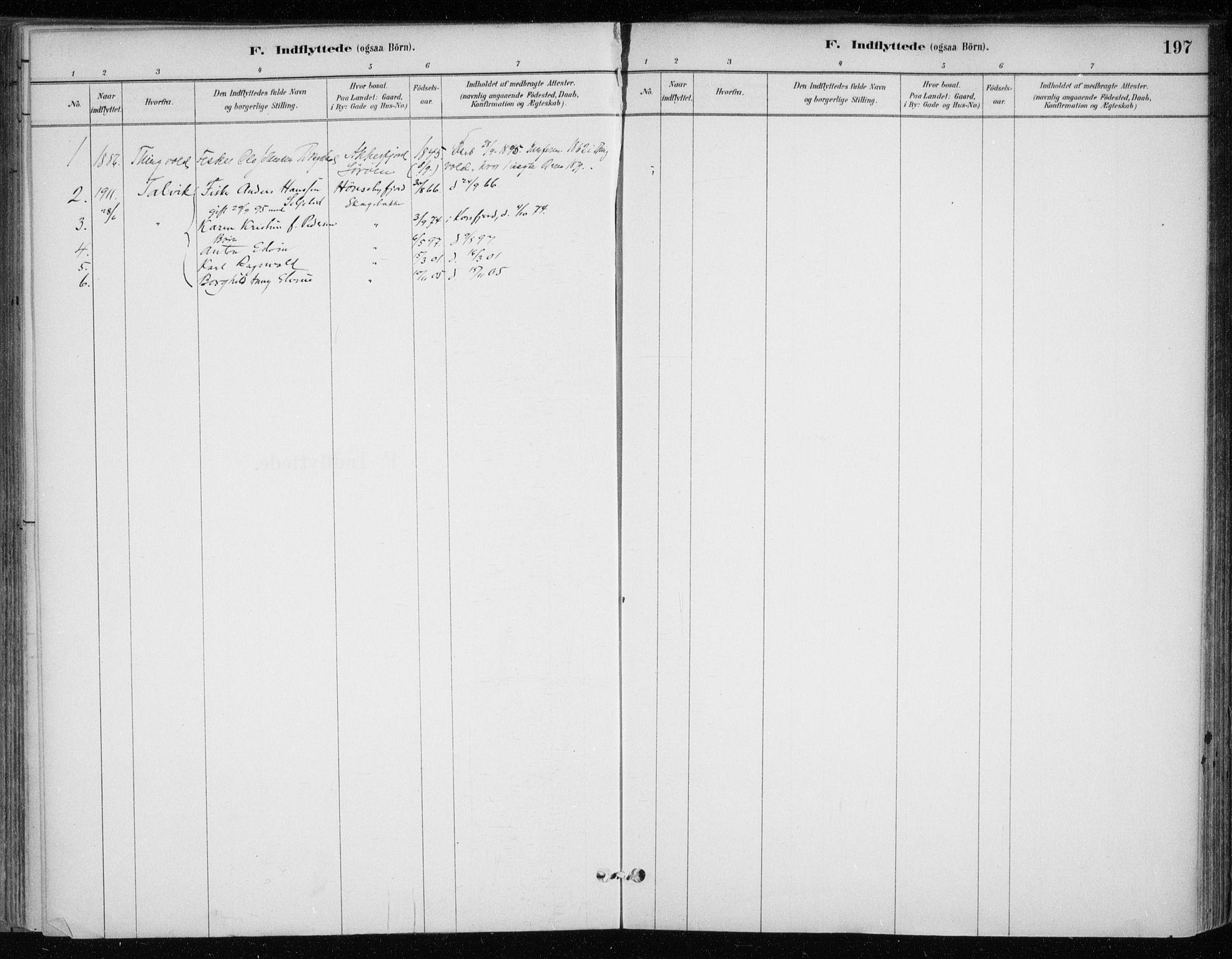 SATØ, Hammerfest sokneprestkontor, H/Ha/L0013.kirke: Ministerialbok nr. 13, 1898-1917, s. 197