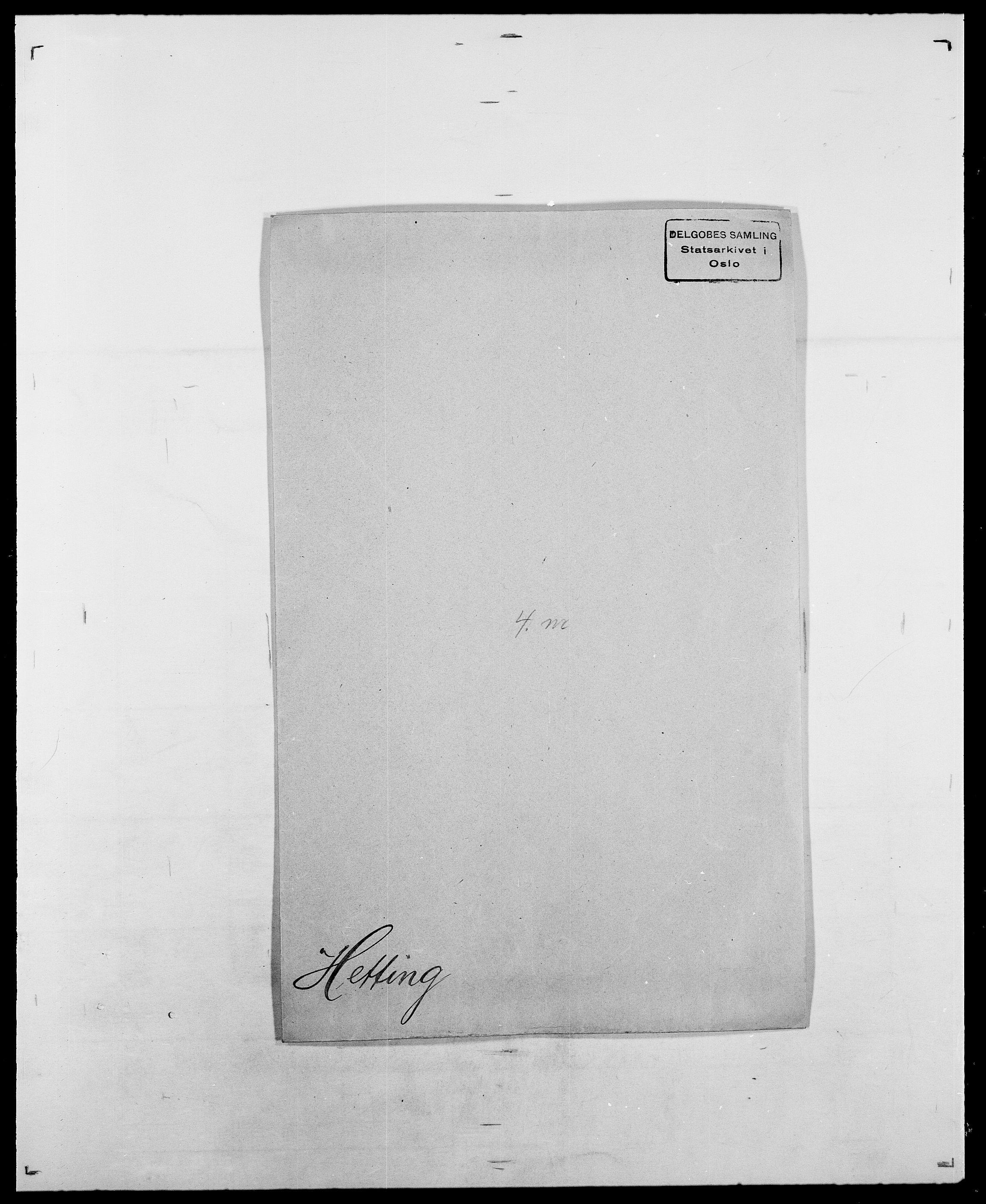 SAO, Delgobe, Charles Antoine - samling, D/Da/L0017: Helander - Hjørne, s. 350