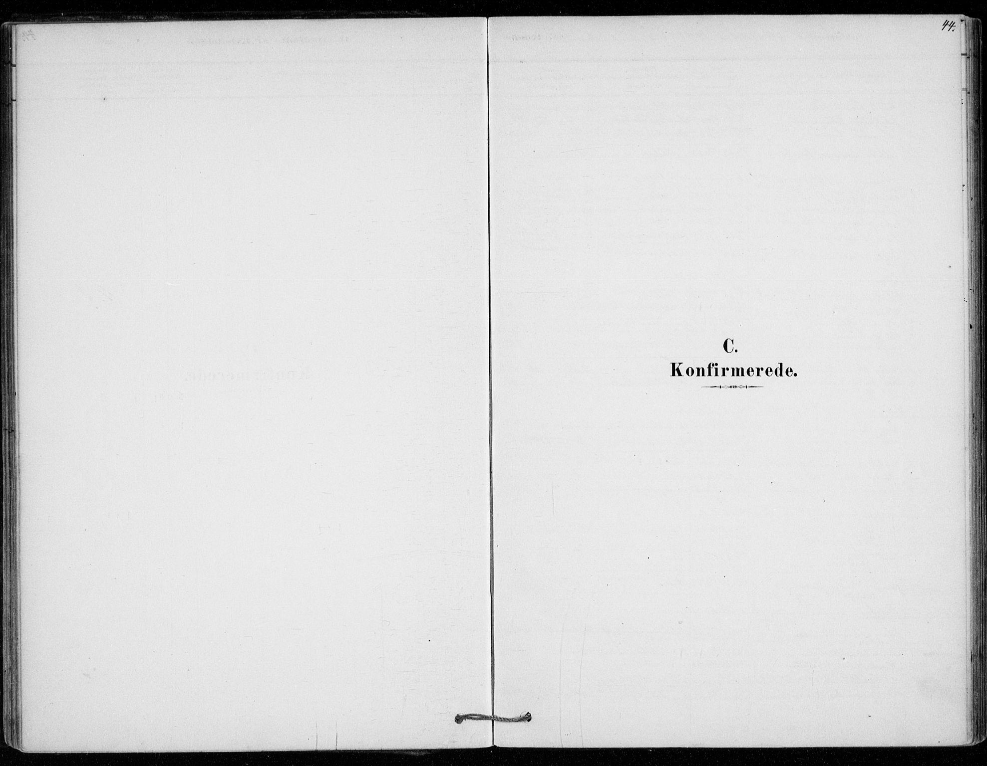 SAO, Vestby prestekontor Kirkebøker, F/Fe/L0001: Ministerialbok nr. V 1, 1878-1931, s. 44