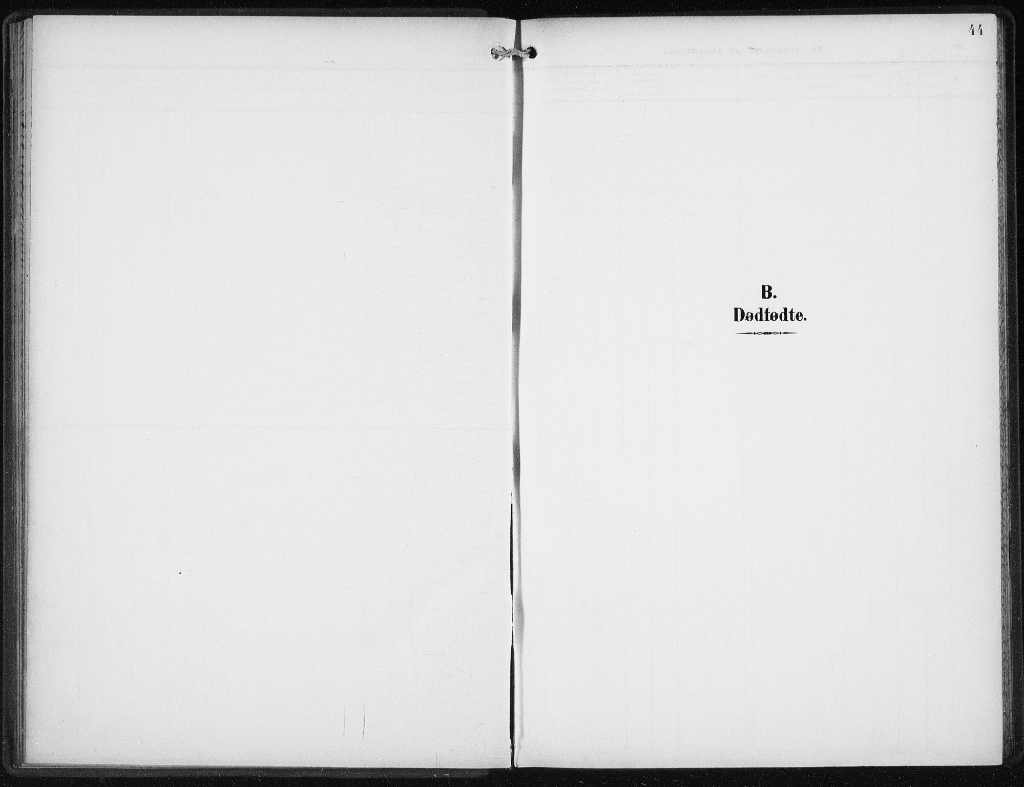SAB, Privatarkiv 110 - Den norske sjømannsmisjon i utlandet/New York, H/Ha/L0006: Ministerialbok nr. A 6, 1909-1914, s. 44