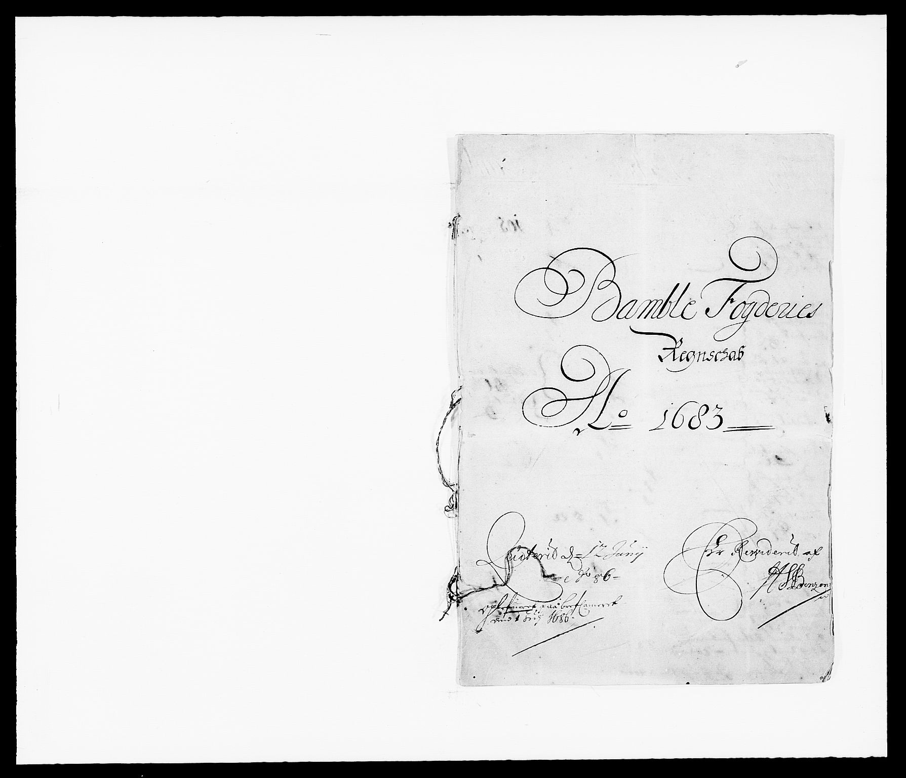 RA, Rentekammeret inntil 1814, Reviderte regnskaper, Fogderegnskap, R34/L2046: Fogderegnskap Bamble, 1682-1683, s. 233