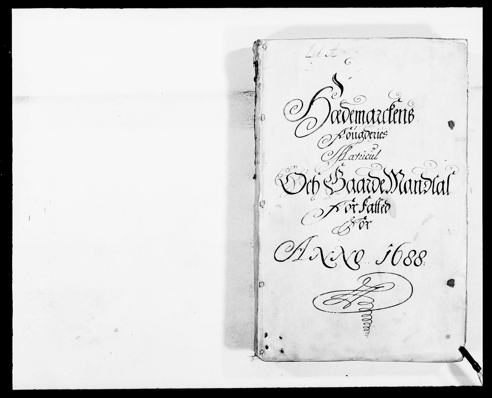 RA, Rentekammeret inntil 1814, Reviderte regnskaper, Fogderegnskap, R16/L1029: Fogderegnskap Hedmark, 1688, s. 36