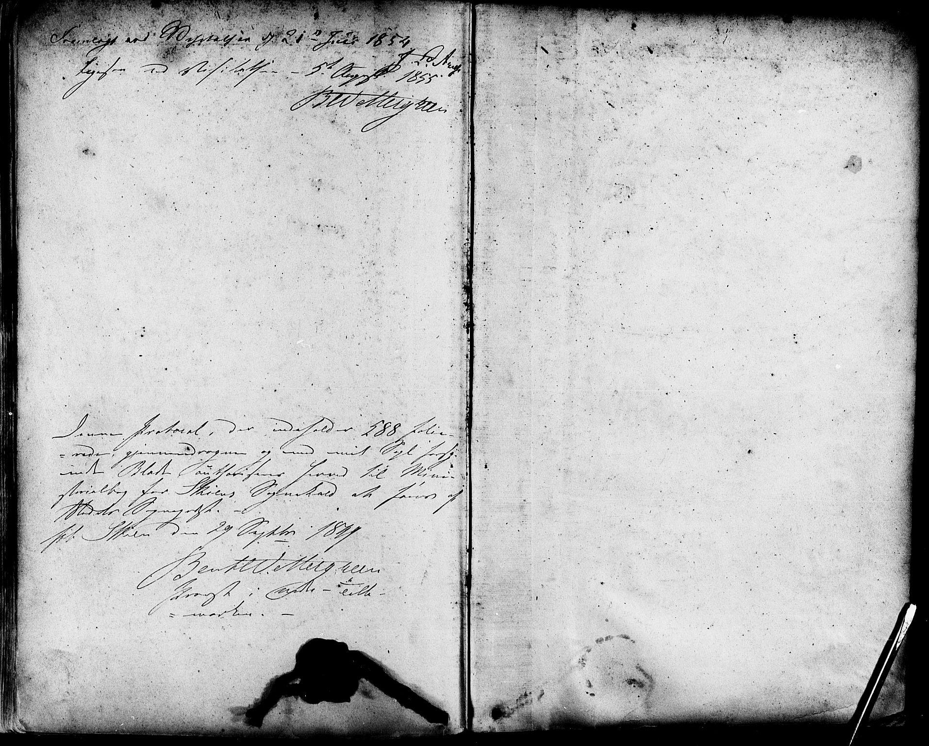 SAKO, Skien kirkebøker, F/Fa/L0006a: Ministerialbok nr. 6A, 1843-1856