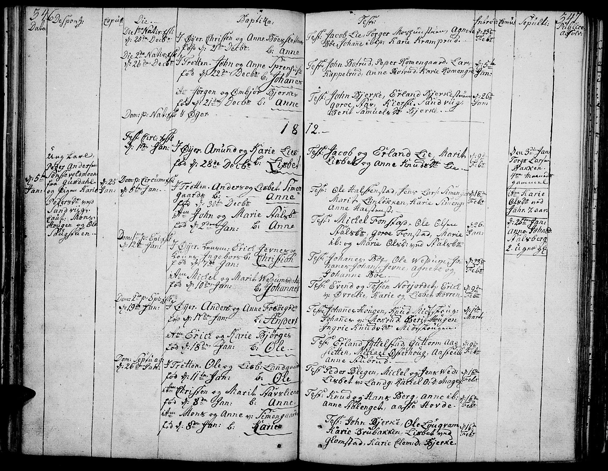 SAH, Øyer prestekontor, Ministerialbok nr. 3, 1784-1824, s. 346-347