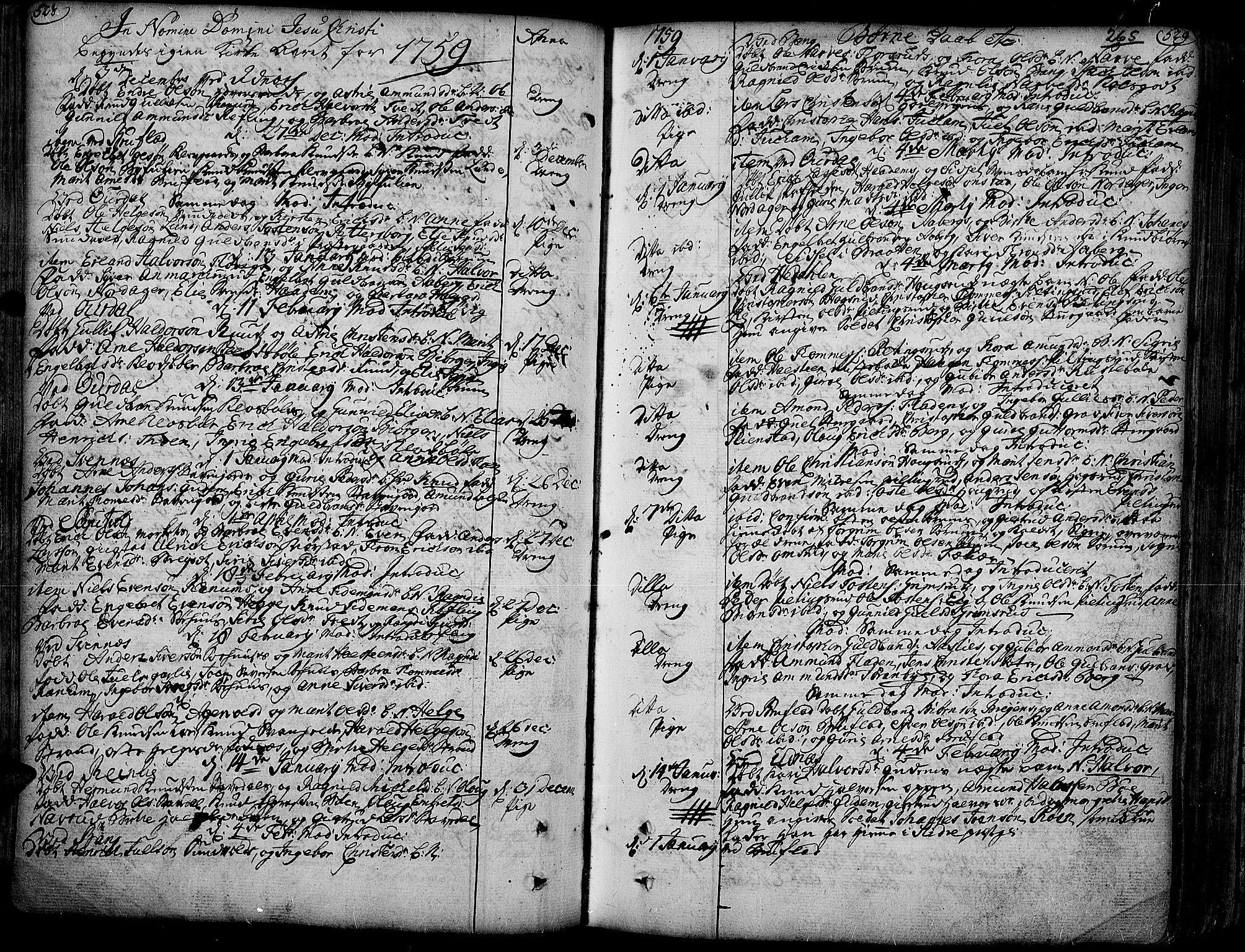 SAH, Aurdal prestekontor, Ministerialbok nr. 4, 1730-1762, s. 528-529