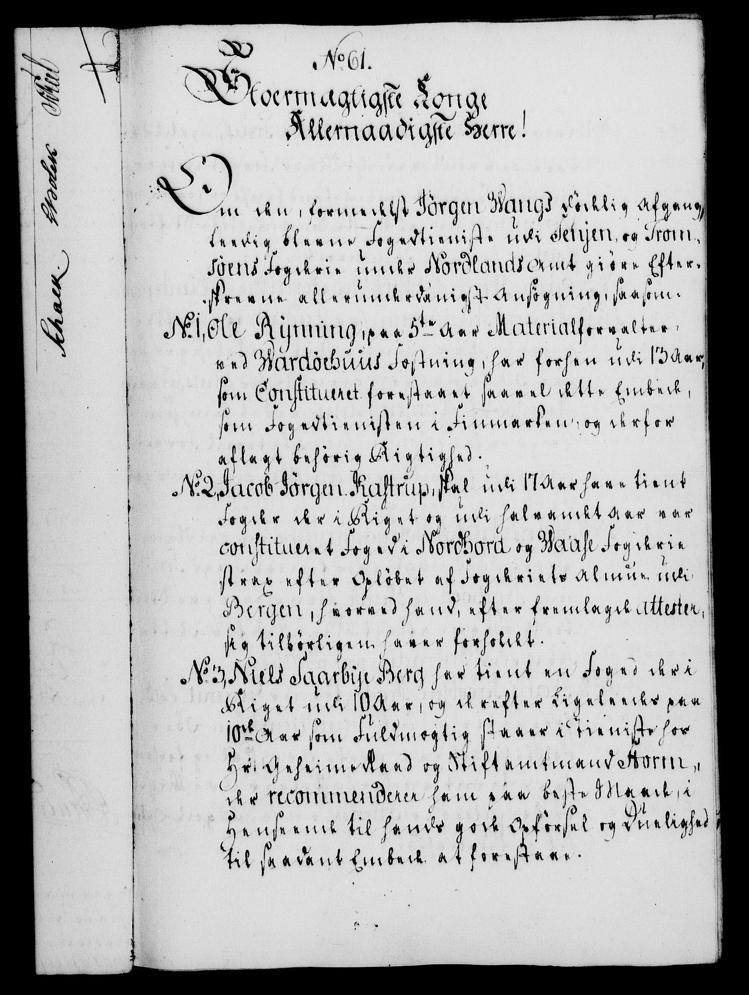 RA, Rentekammeret, Kammerkanselliet, G/Gf/Gfa/L0052: Norsk relasjons- og resolusjonsprotokoll (merket RK 52.52), 1770, s. 278