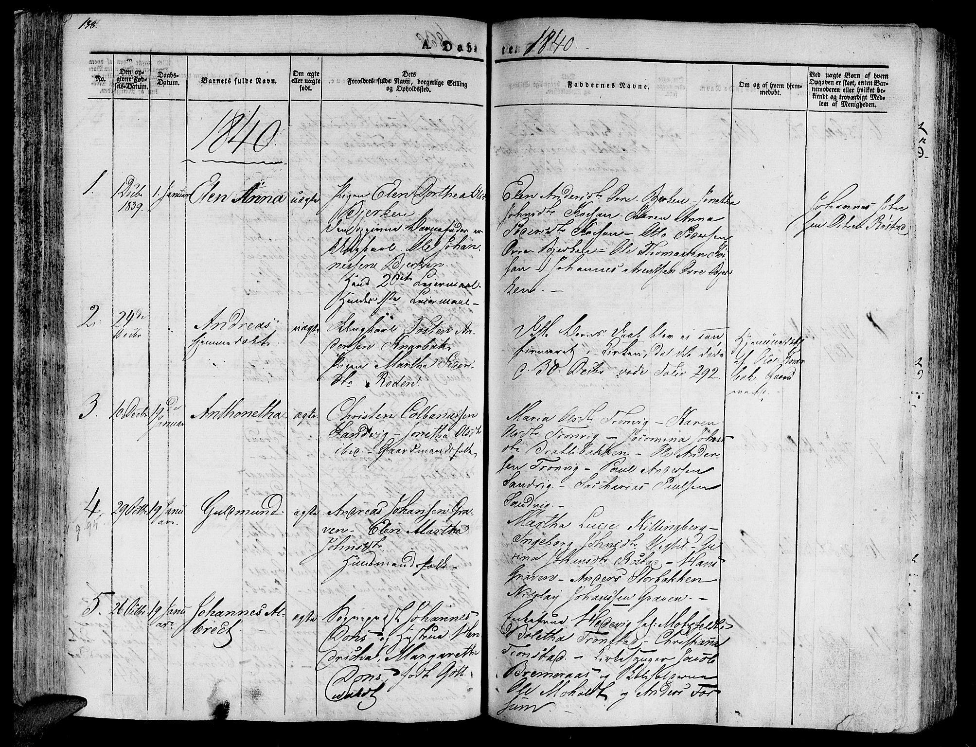 SAT, Ministerialprotokoller, klokkerbøker og fødselsregistre - Nord-Trøndelag, 701/L0006: Ministerialbok nr. 701A06, 1825-1841, s. 138