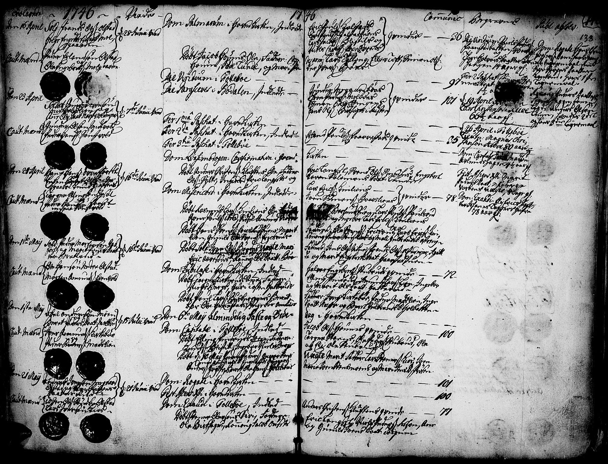 SAH, Gausdal prestekontor, Ministerialbok nr. 2, 1729-1757, s. 133