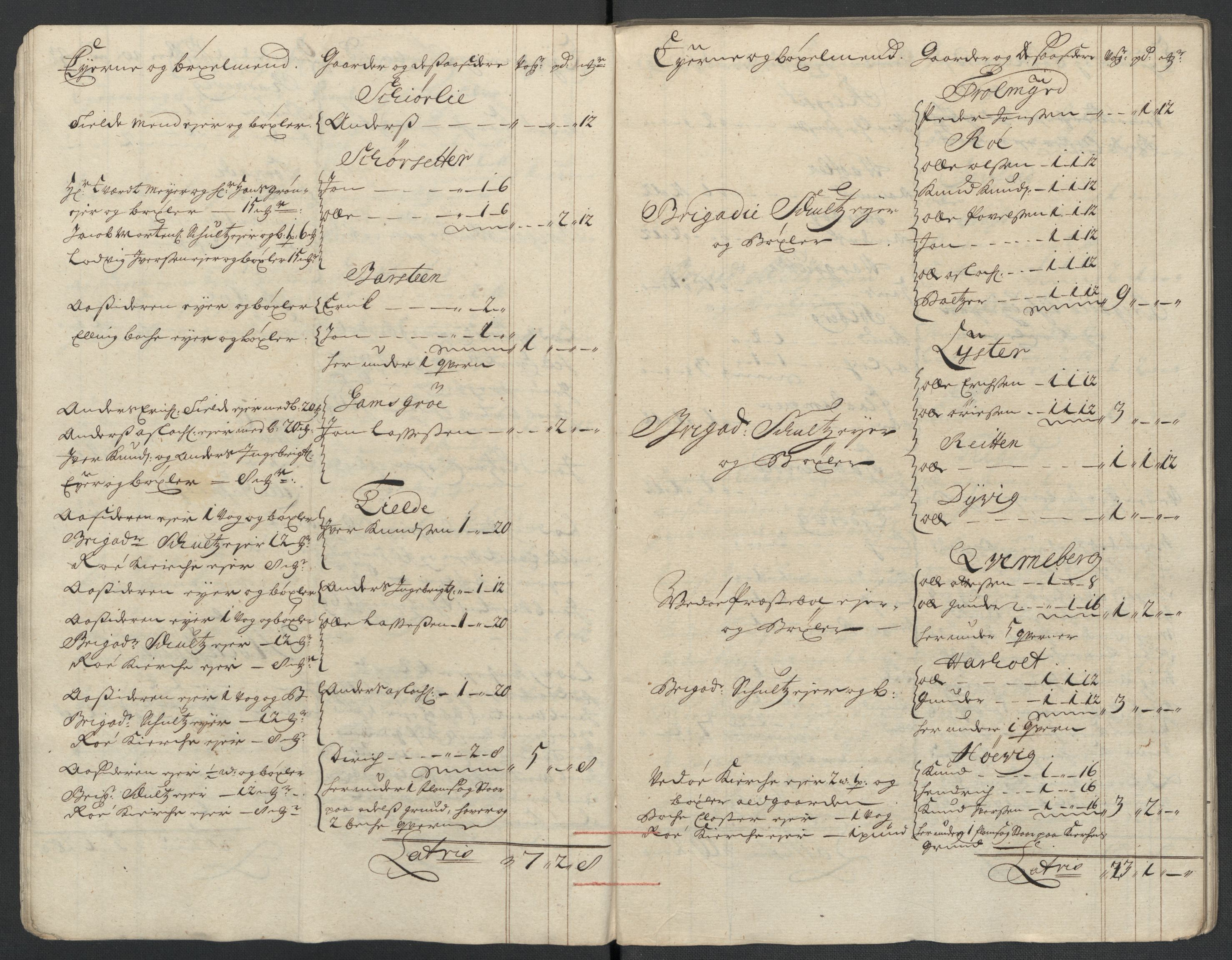 RA, Rentekammeret inntil 1814, Reviderte regnskaper, Fogderegnskap, R55/L3658: Fogderegnskap Romsdal, 1707-1708, s. 198