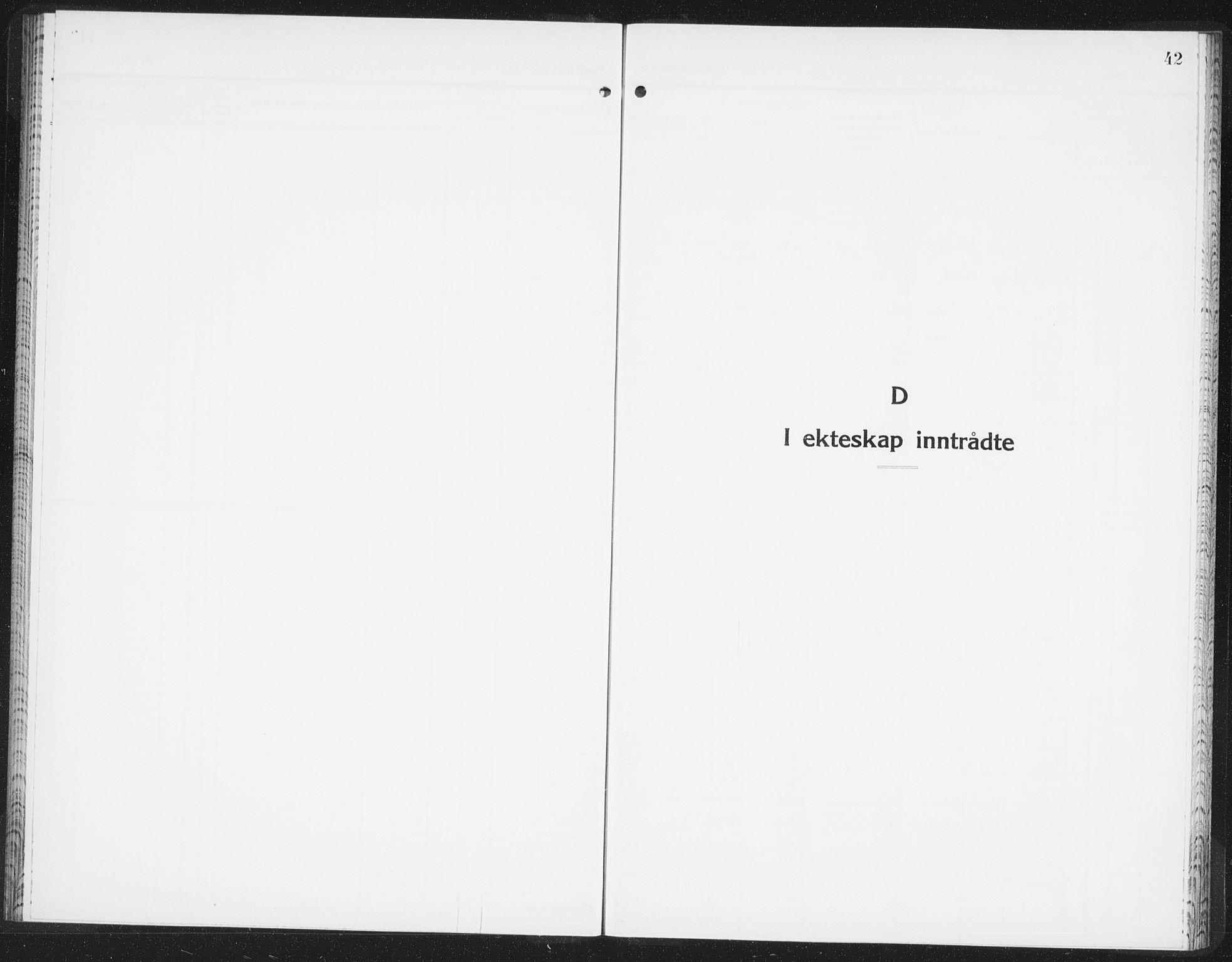 SAO, Halden prestekontor Kirkebøker, F/Fb/L0002: Ministerialbok nr. II 2, 1933-1942, s. 42