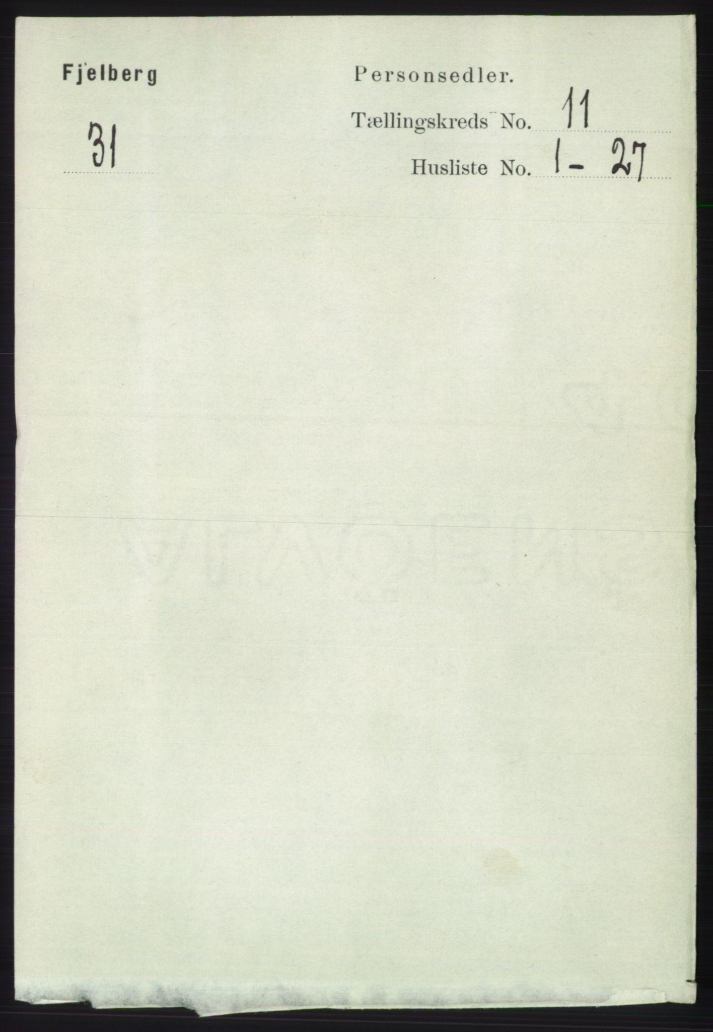 RA, Folketelling 1891 for 1213 Fjelberg herred, 1891, s. 4135