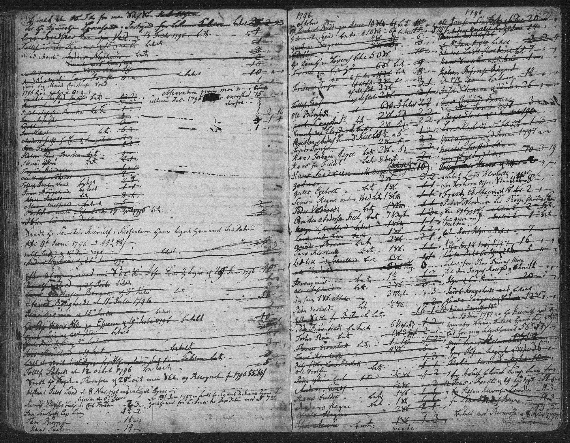 SAKO, Solum kirkebøker, F/Fa/L0003: Ministerialbok nr. I 3, 1761-1814, s. 278-279