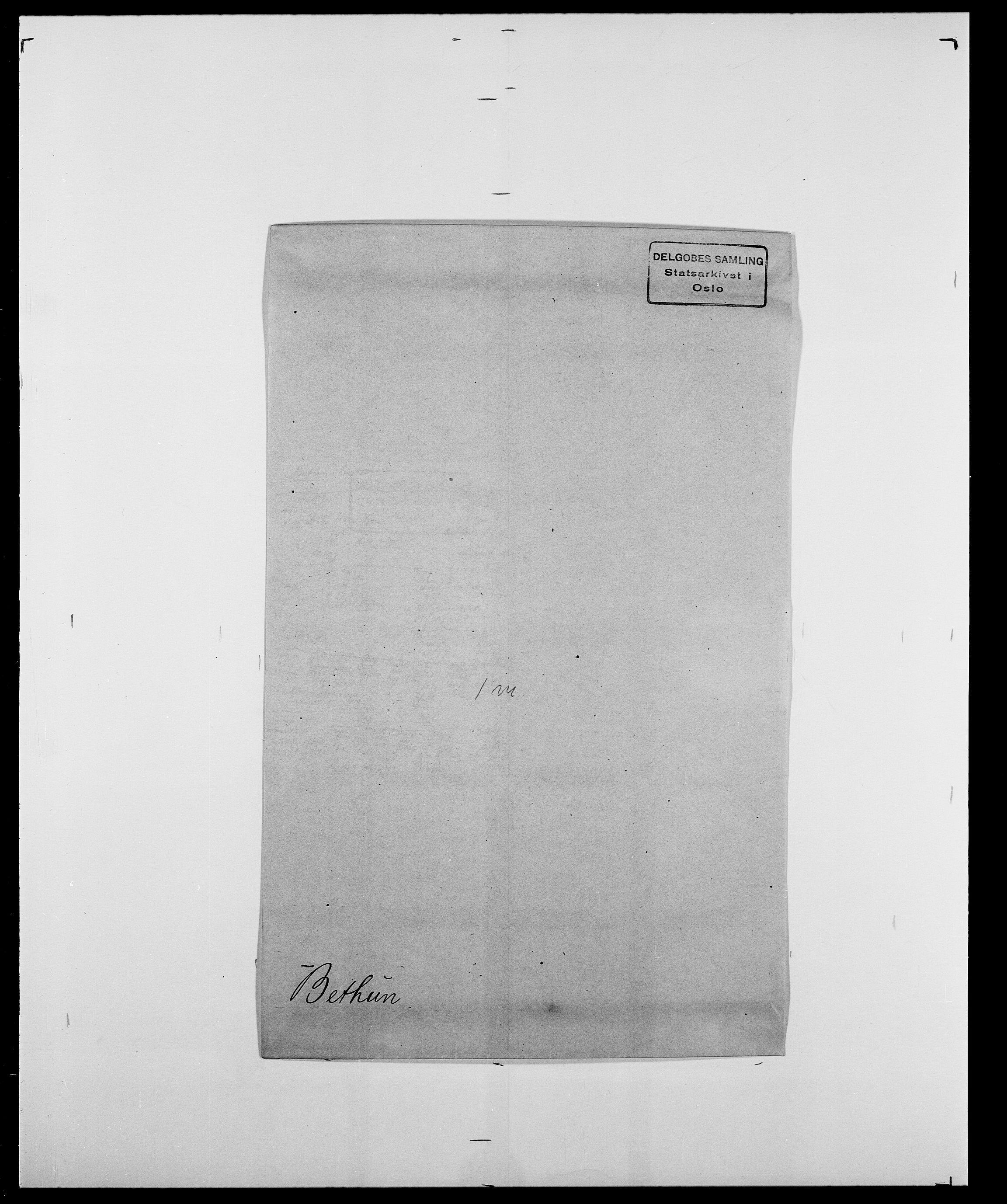 SAO, Delgobe, Charles Antoine - samling, D/Da/L0004: Bergendahl - Blære, s. 142