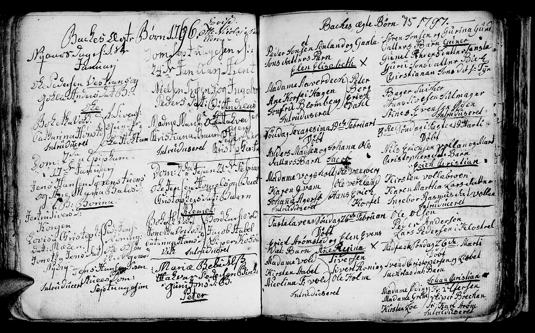 SAT, Ministerialprotokoller, klokkerbøker og fødselsregistre - Sør-Trøndelag, 604/L0218: Klokkerbok nr. 604C01, 1754-1819, s. 75