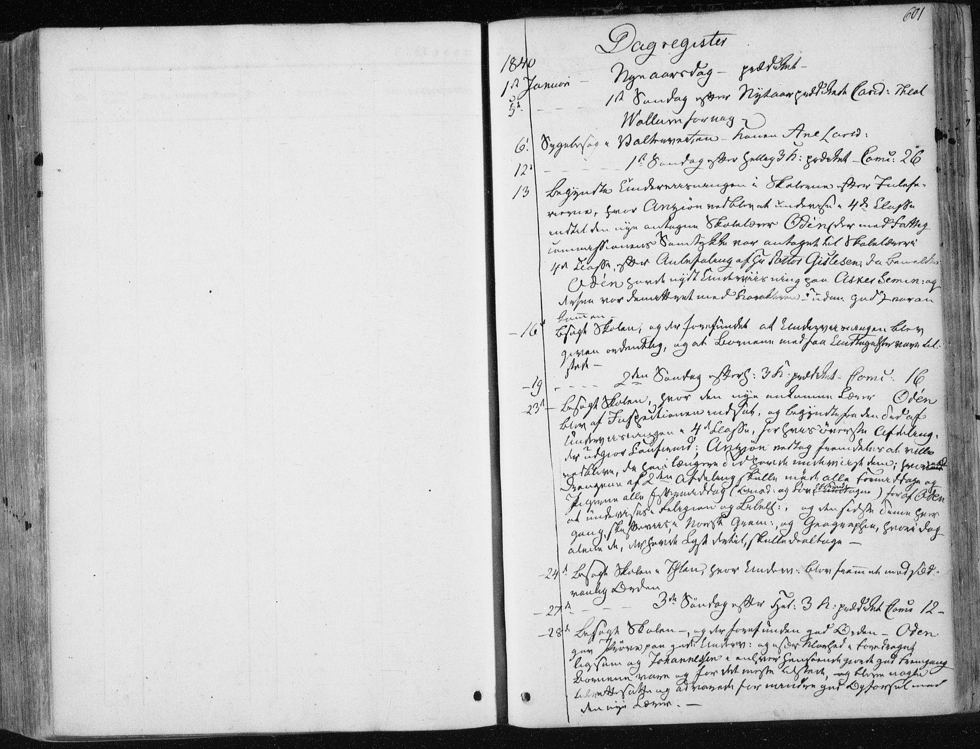 SAT, Ministerialprotokoller, klokkerbøker og fødselsregistre - Sør-Trøndelag, 601/L0049: Ministerialbok nr. 601A17, 1839-1847, s. 601