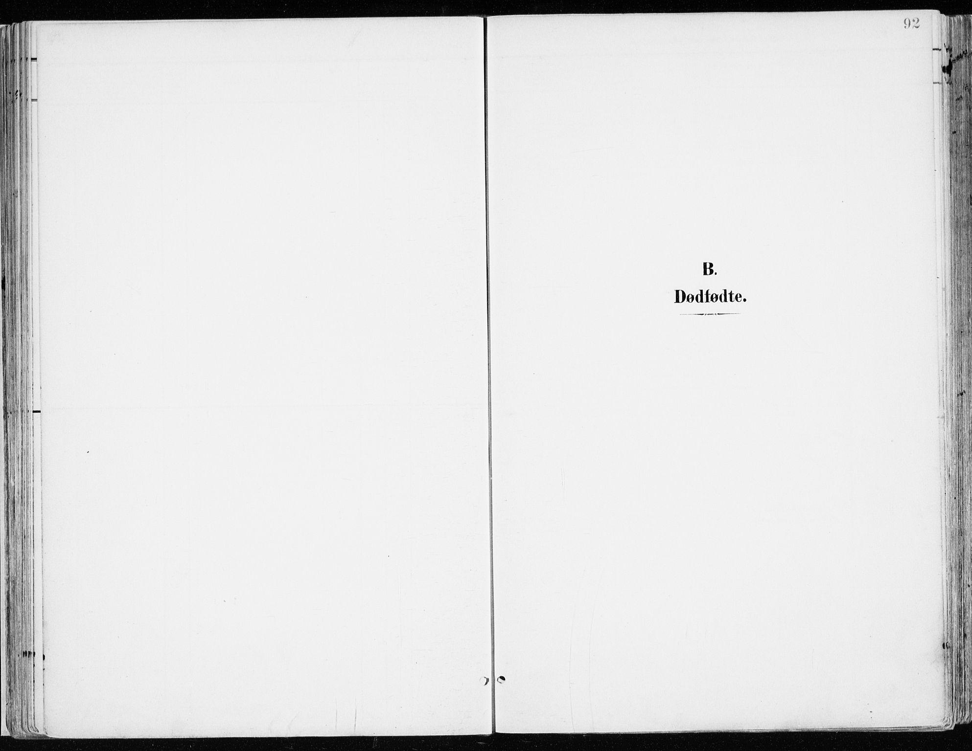 SAH, Nord-Odal prestekontor, Ministerialbok nr. 9, 1902-1926, s. 92