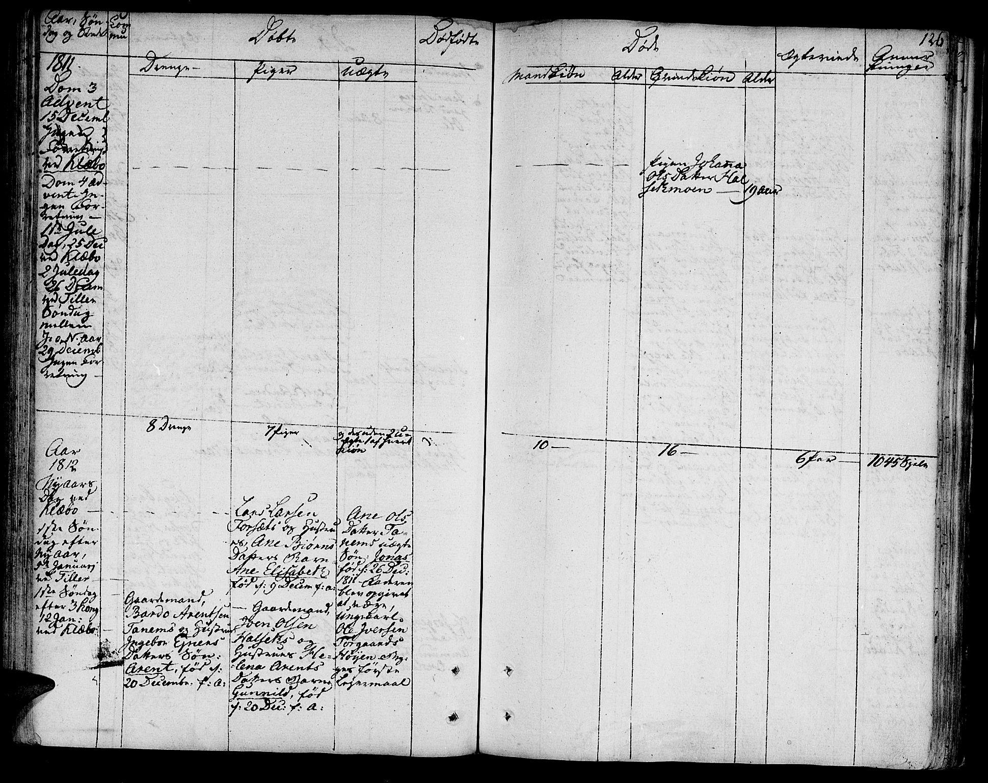 SAT, Ministerialprotokoller, klokkerbøker og fødselsregistre - Sør-Trøndelag, 618/L0438: Ministerialbok nr. 618A03, 1783-1815, s. 126