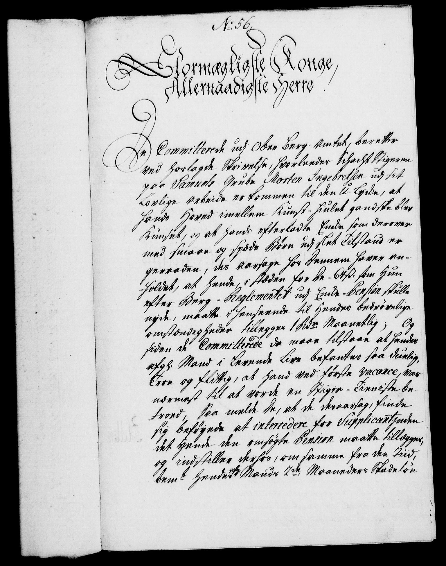 RA, Rentekammeret, Kammerkanselliet, G/Gf/Gfa/L0028: Norsk relasjons- og resolusjonsprotokoll (merket RK 52.28), 1745-1746, s. 339