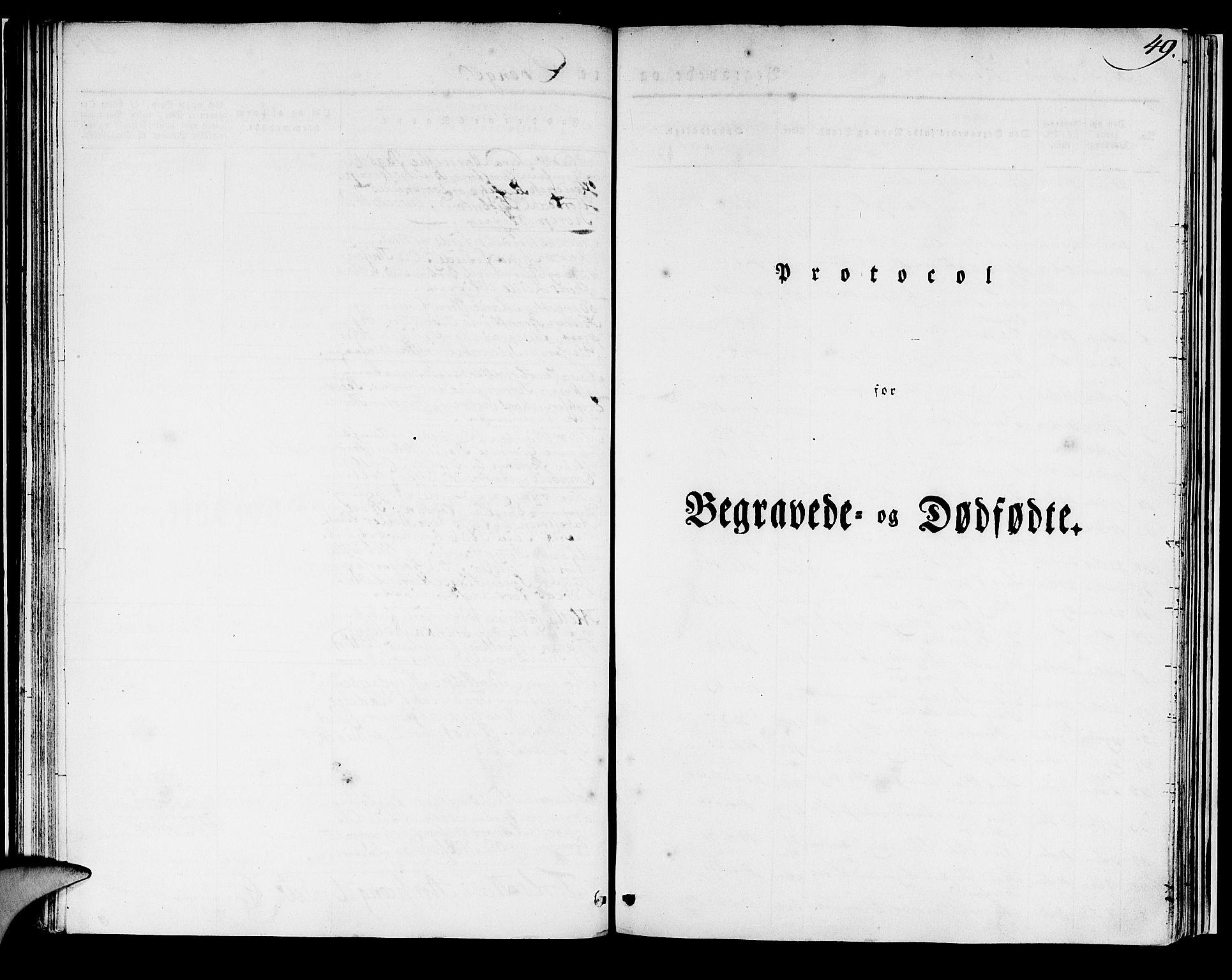 SAB, Domkirken Sokneprestembete, H/Haa/L0014: Ministerialbok nr. A 13, 1830-1837, s. 49