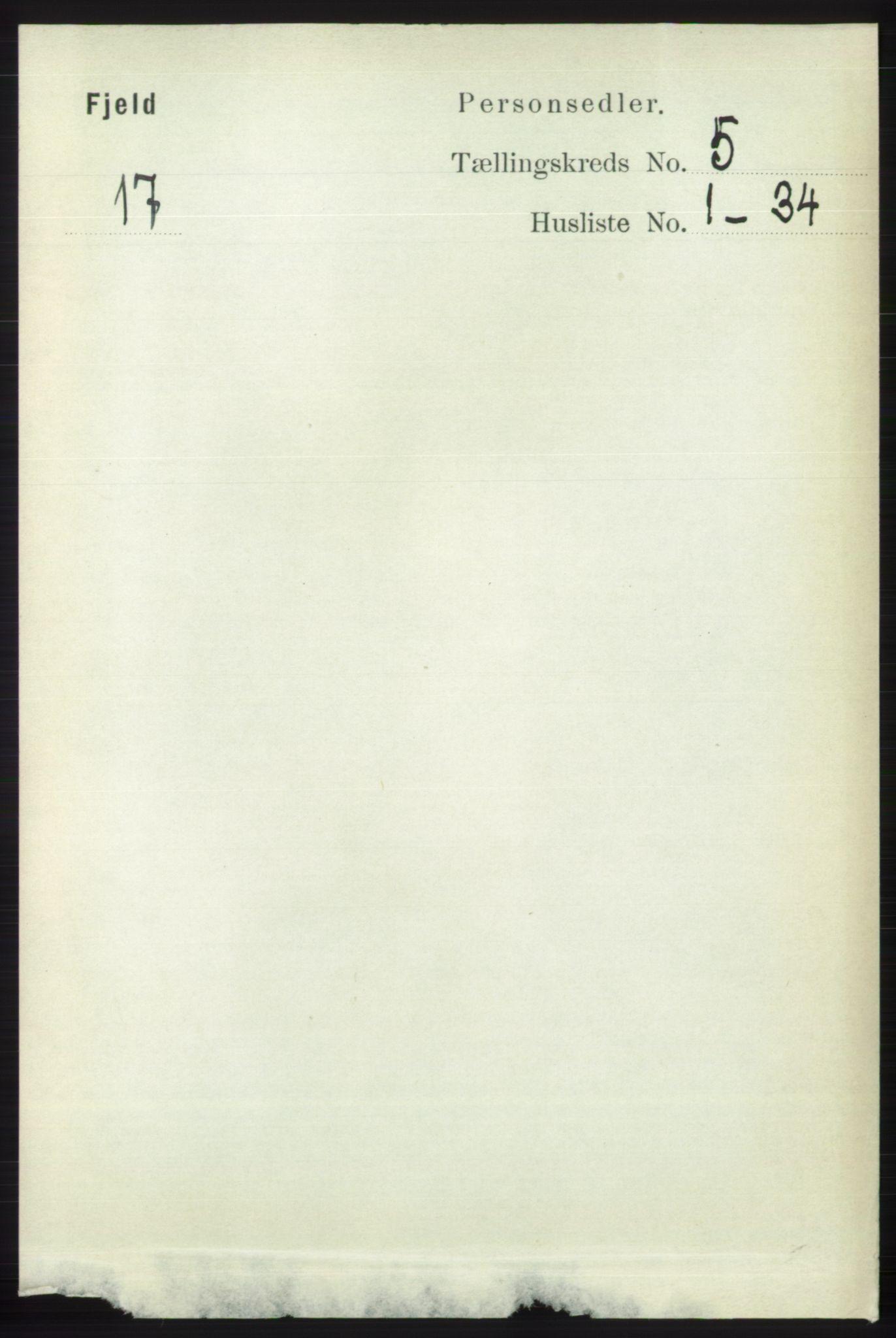RA, Folketelling 1891 for 1246 Fjell herred, 1891, s. 2553