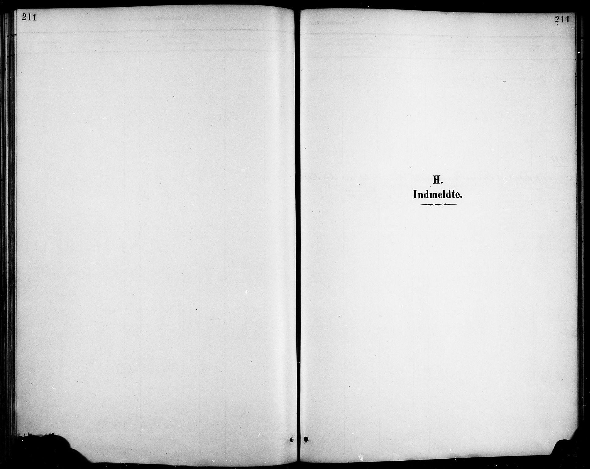 SAB, Haus sokneprestembete, H/Haa: Ministerialbok nr. D 1, 1887-1898, s. 211