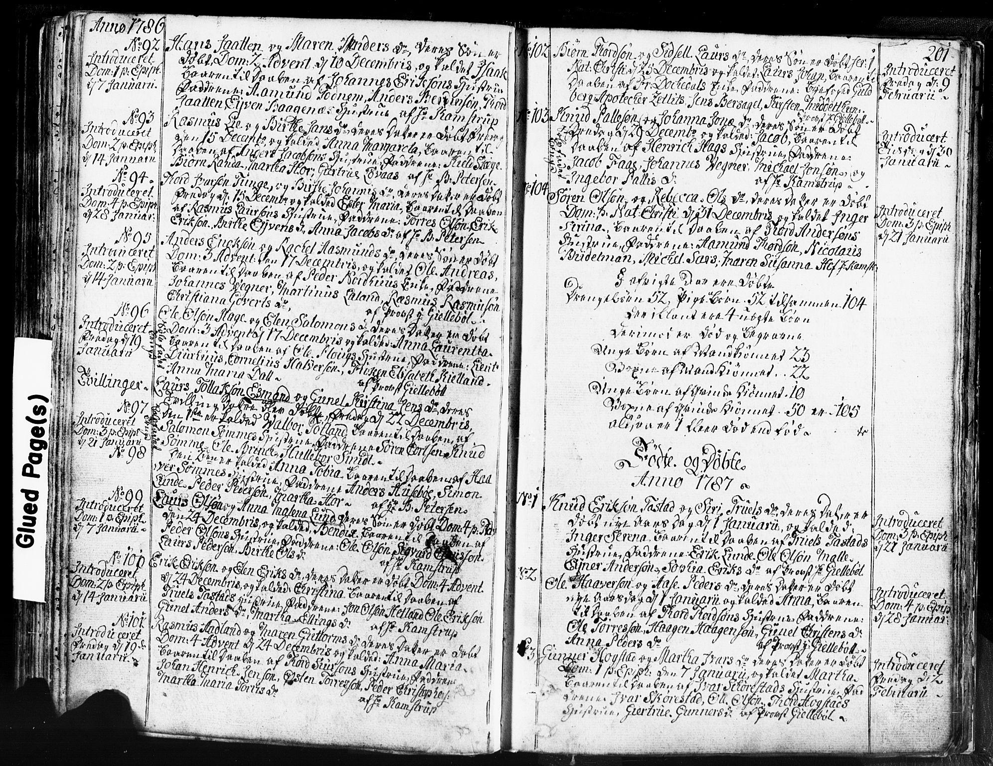 SAST, Domkirken sokneprestkontor, 30/30BB/L0004: Klokkerbok nr. B 4, 1752-1790, s. 201