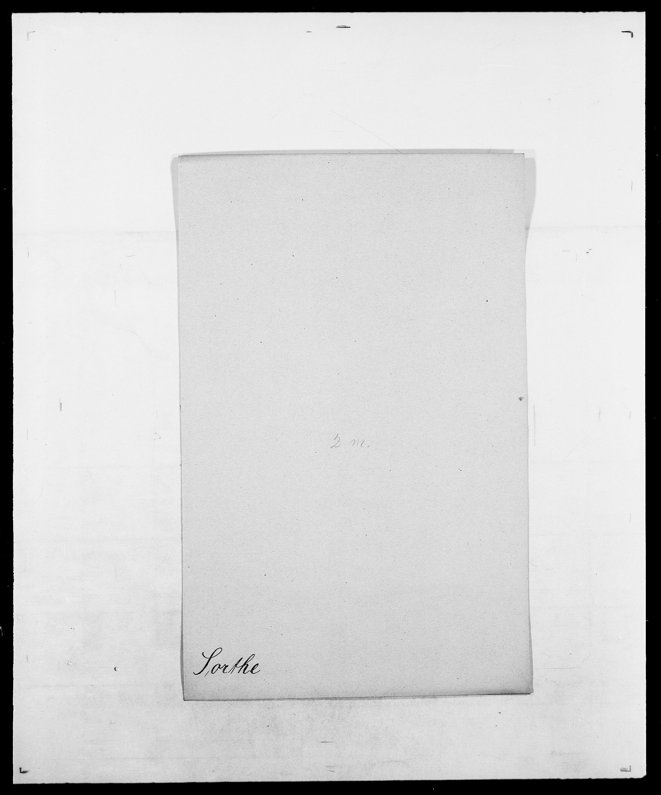 SAO, Delgobe, Charles Antoine - samling, D/Da/L0036: Skaanør - Staverskov, s. 497