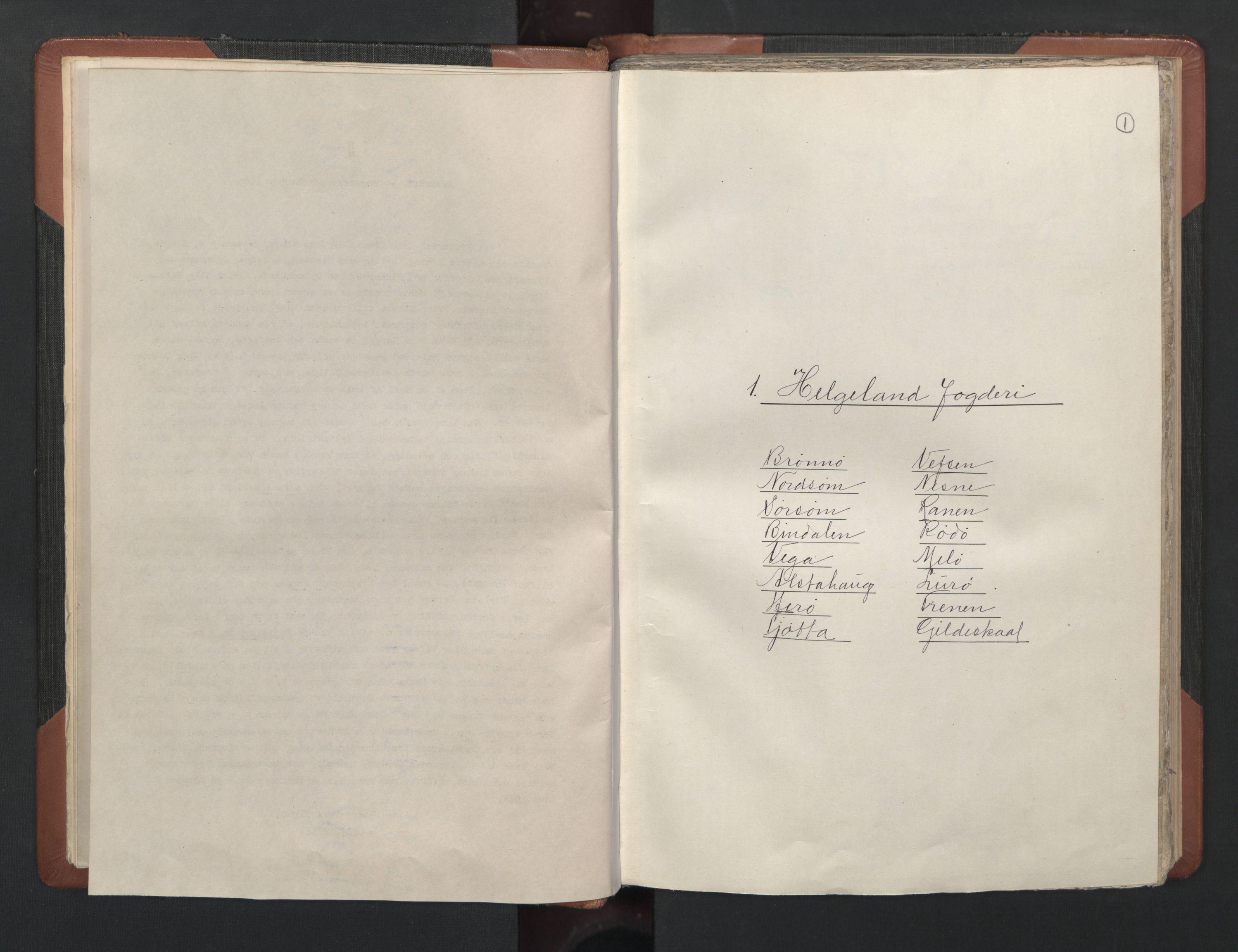 RA, Fogdenes og sorenskrivernes manntall 1664-1666, nr. 20: Fogderier (len og skipreider) i nåværende Nordland fylke, Troms fylke og Finnmark fylke, 1665, s. 1