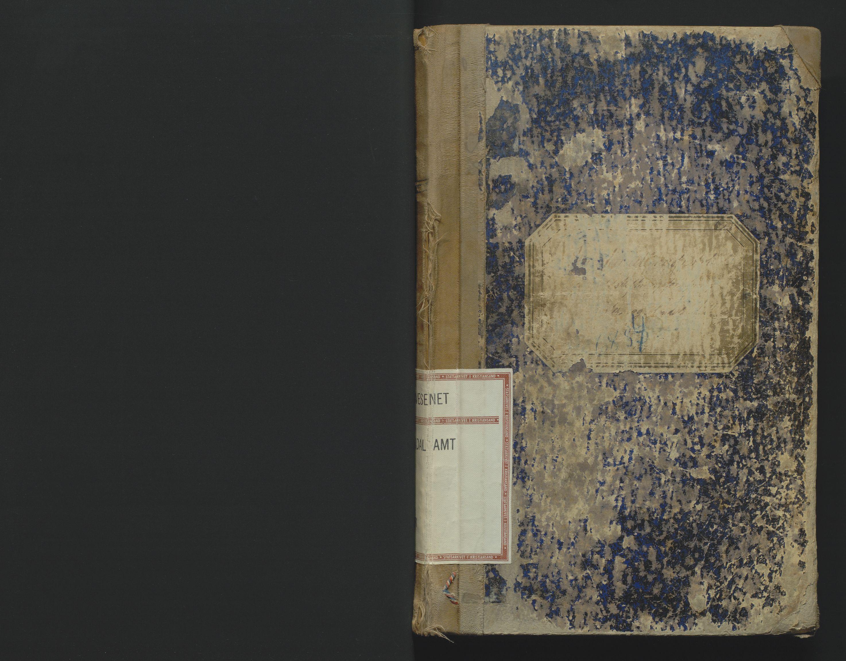 SAK, Utskiftningsformannen i Lister og Mandal amt, F/Fa/Faa/L0018: Utskiftningsprotokoll med register nr 18, 1887-1891