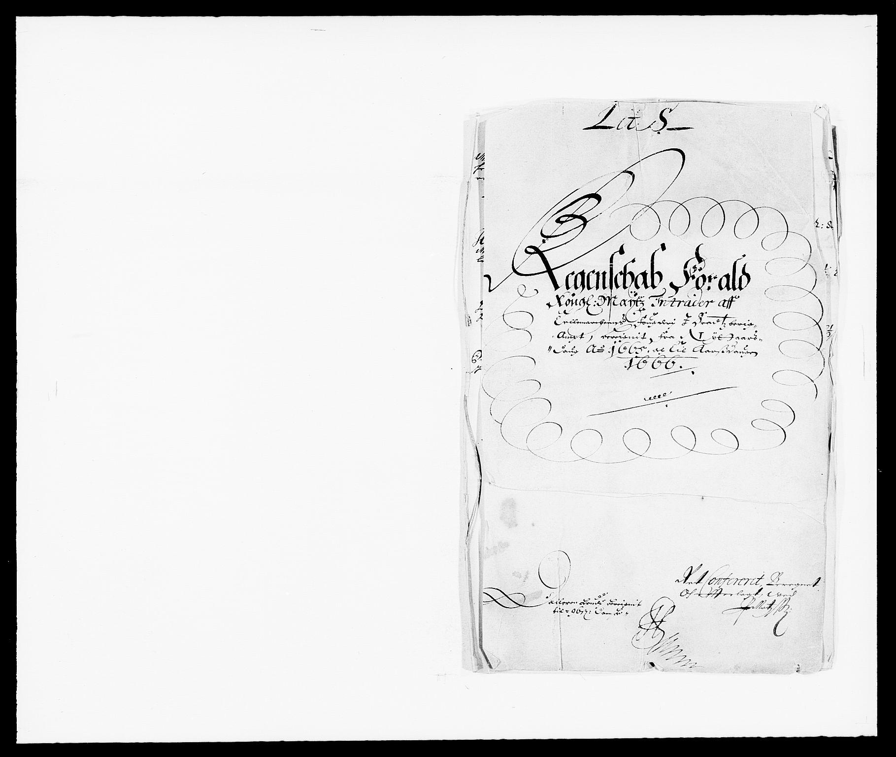 RA, Rentekammeret inntil 1814, Reviderte regnskaper, Fogderegnskap, R35/L2056: Fogderegnskap Øvre og Nedre Telemark, 1665, s. 1