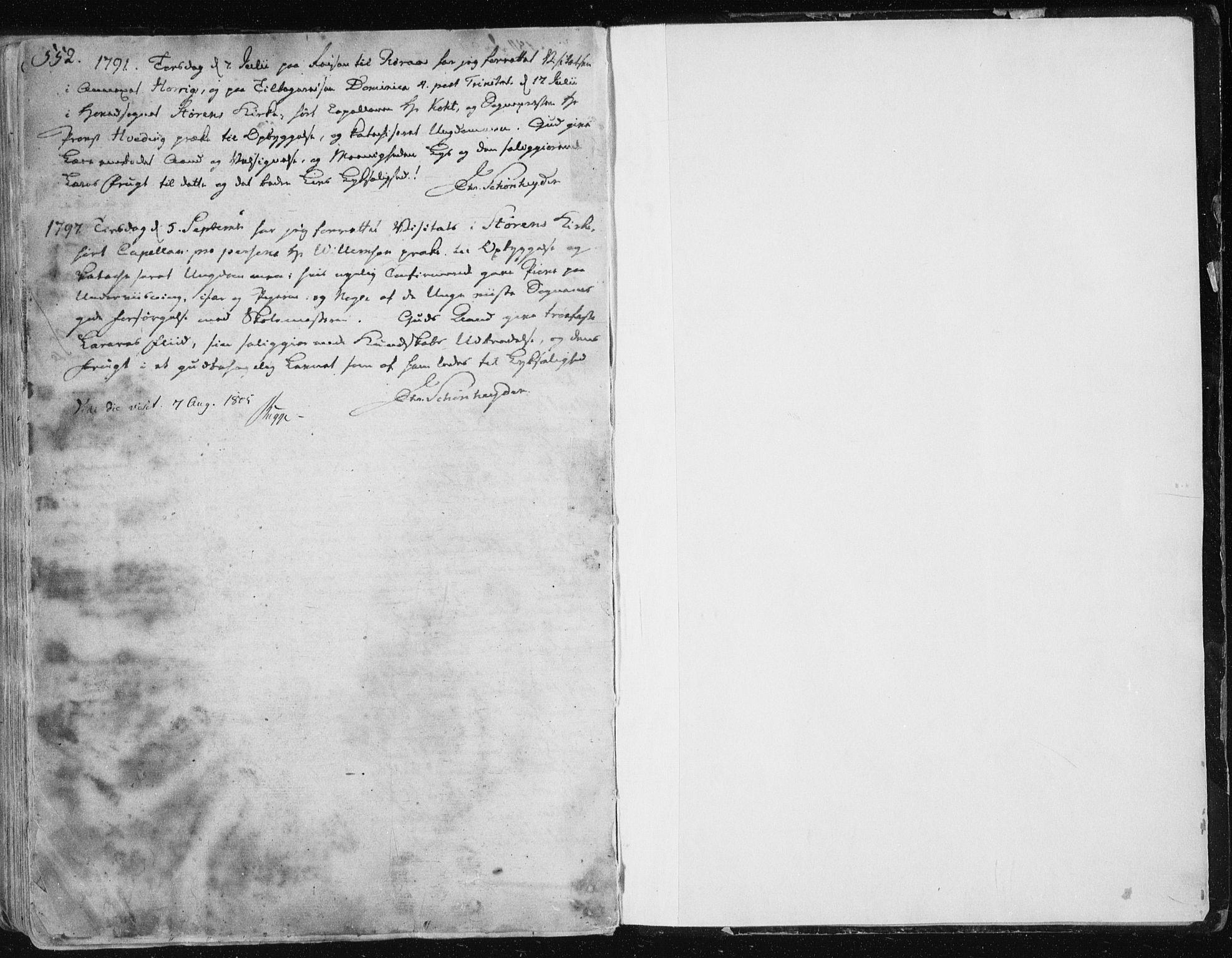 SAT, Ministerialprotokoller, klokkerbøker og fødselsregistre - Sør-Trøndelag, 687/L0992: Ministerialbok nr. 687A03 /1, 1788-1815, s. 552-553