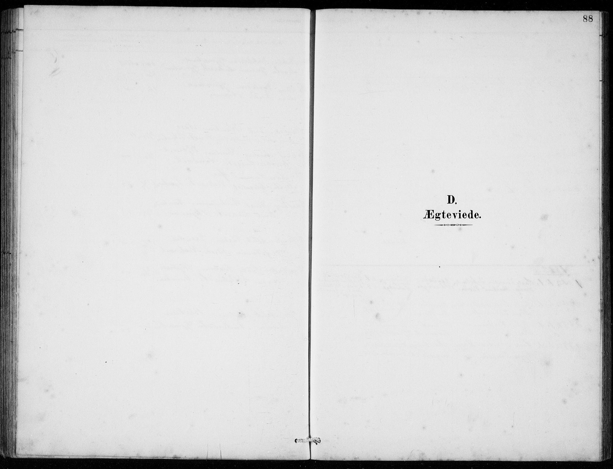 SAB, Strandebarm sokneprestembete, H/Hab: Klokkerbok nr. C  1, 1891-1913, s. 88