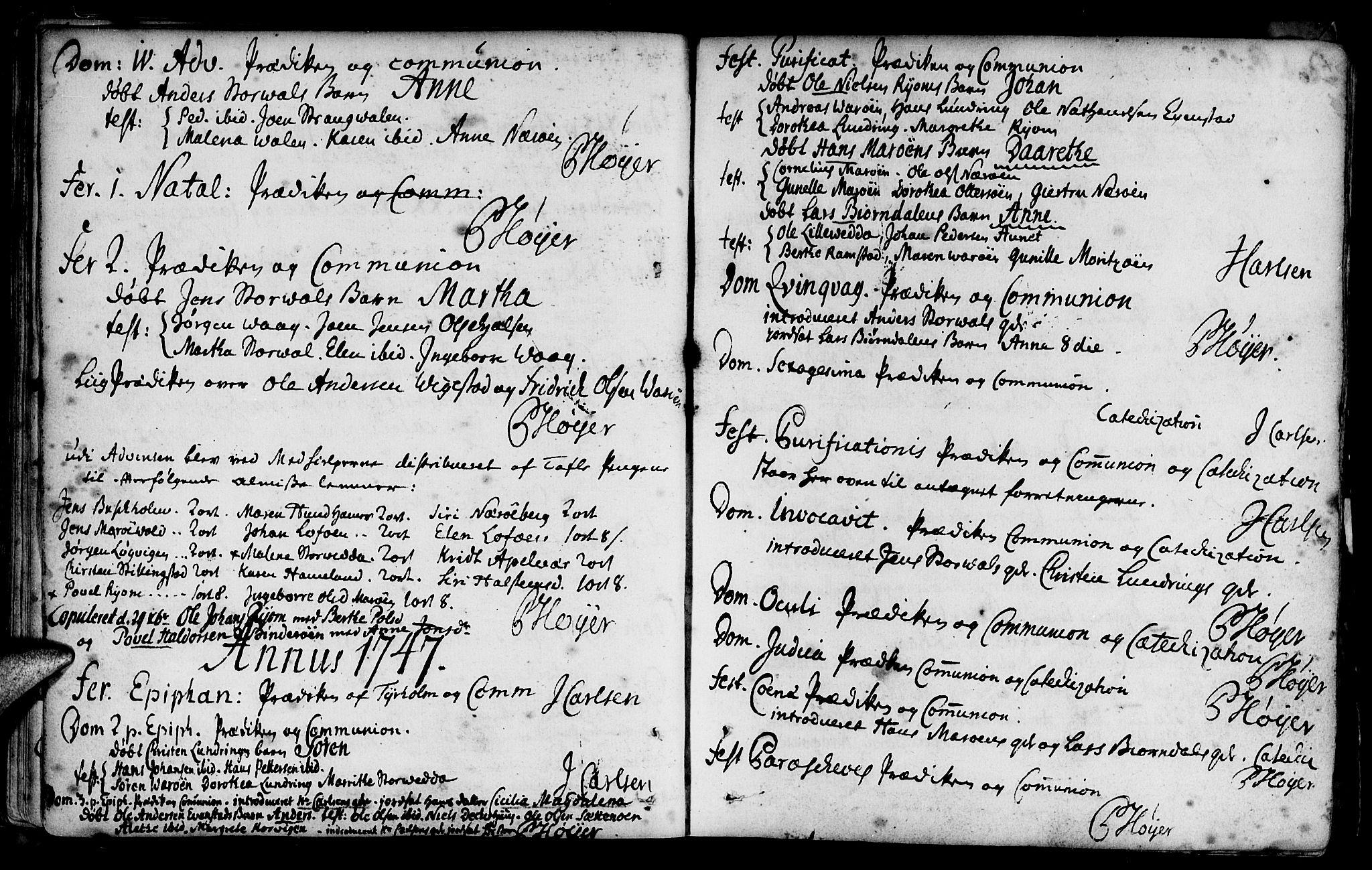 SAT, Ministerialprotokoller, klokkerbøker og fødselsregistre - Nord-Trøndelag, 784/L0665: Ministerialbok nr. 784A01, 1730-1785
