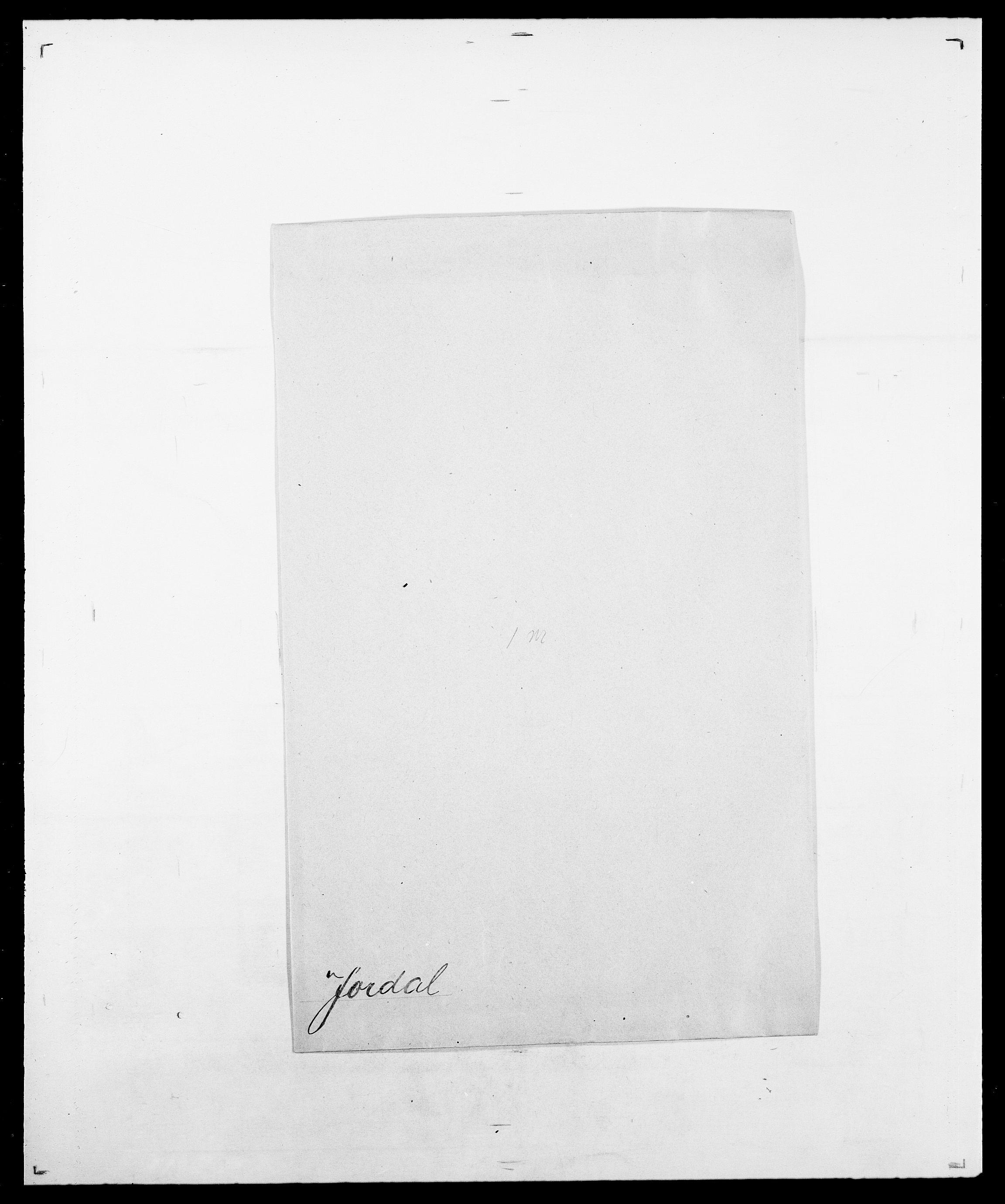SAO, Delgobe, Charles Antoine - samling, D/Da/L0019: van der Hude - Joys, s. 888