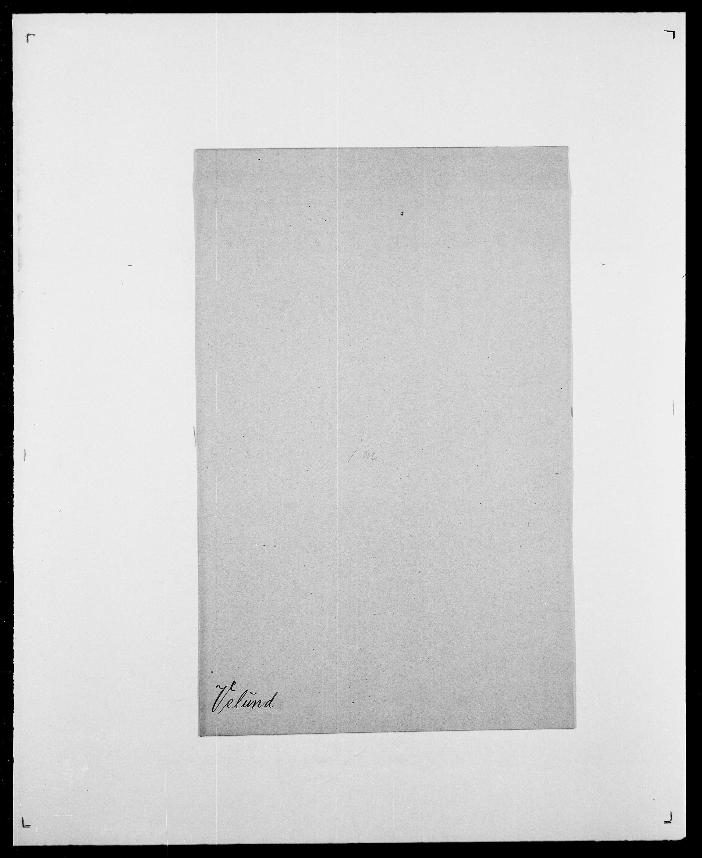 SAO, Delgobe, Charles Antoine - samling, D/Da/L0040: Usgaard - Velund, s. 766