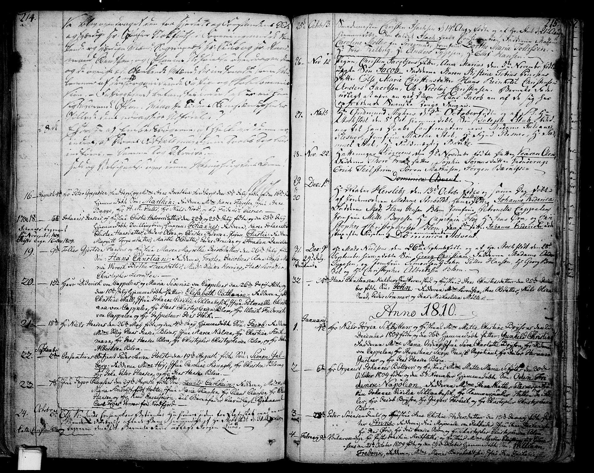 SAKO, Skien kirkebøker, F/Fa/L0004: Ministerialbok nr. 4, 1792-1814, s. 214-215