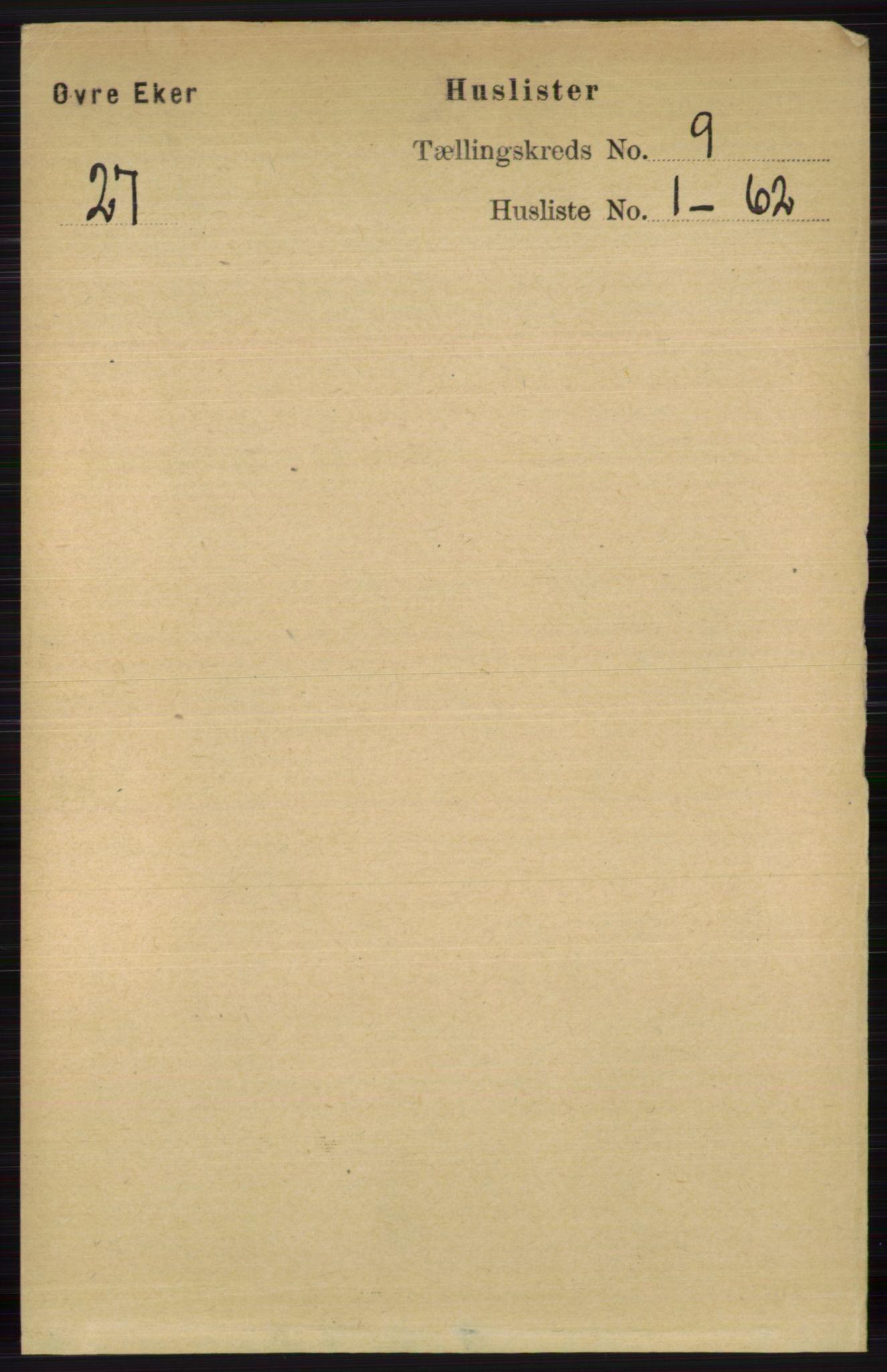 RA, Folketelling 1891 for 0624 Øvre Eiker herred, 1891, s. 3577