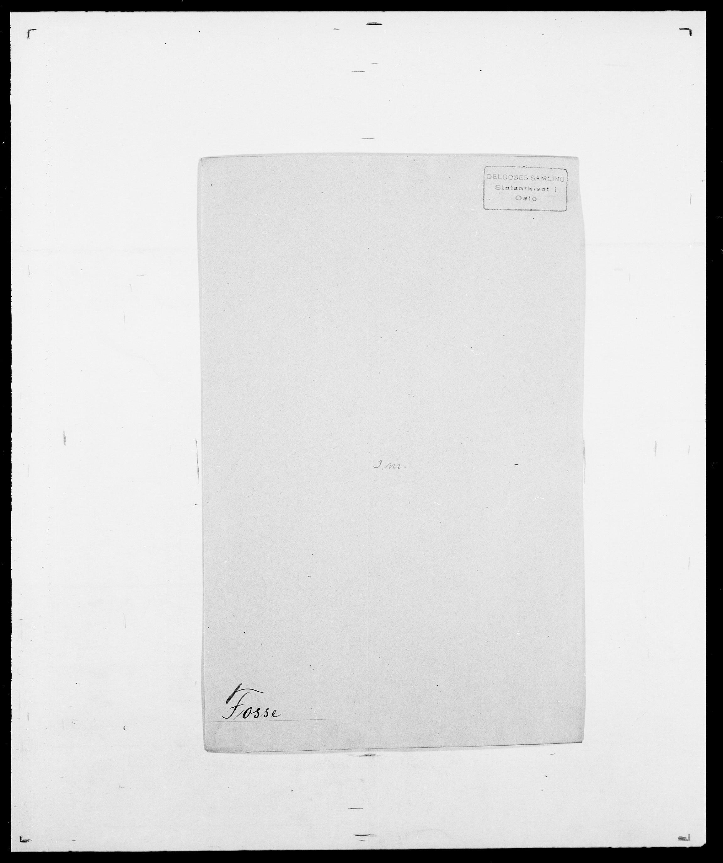 SAO, Delgobe, Charles Antoine - samling, D/Da/L0012: Flor, Floer, Flohr - Fritzner, s. 660
