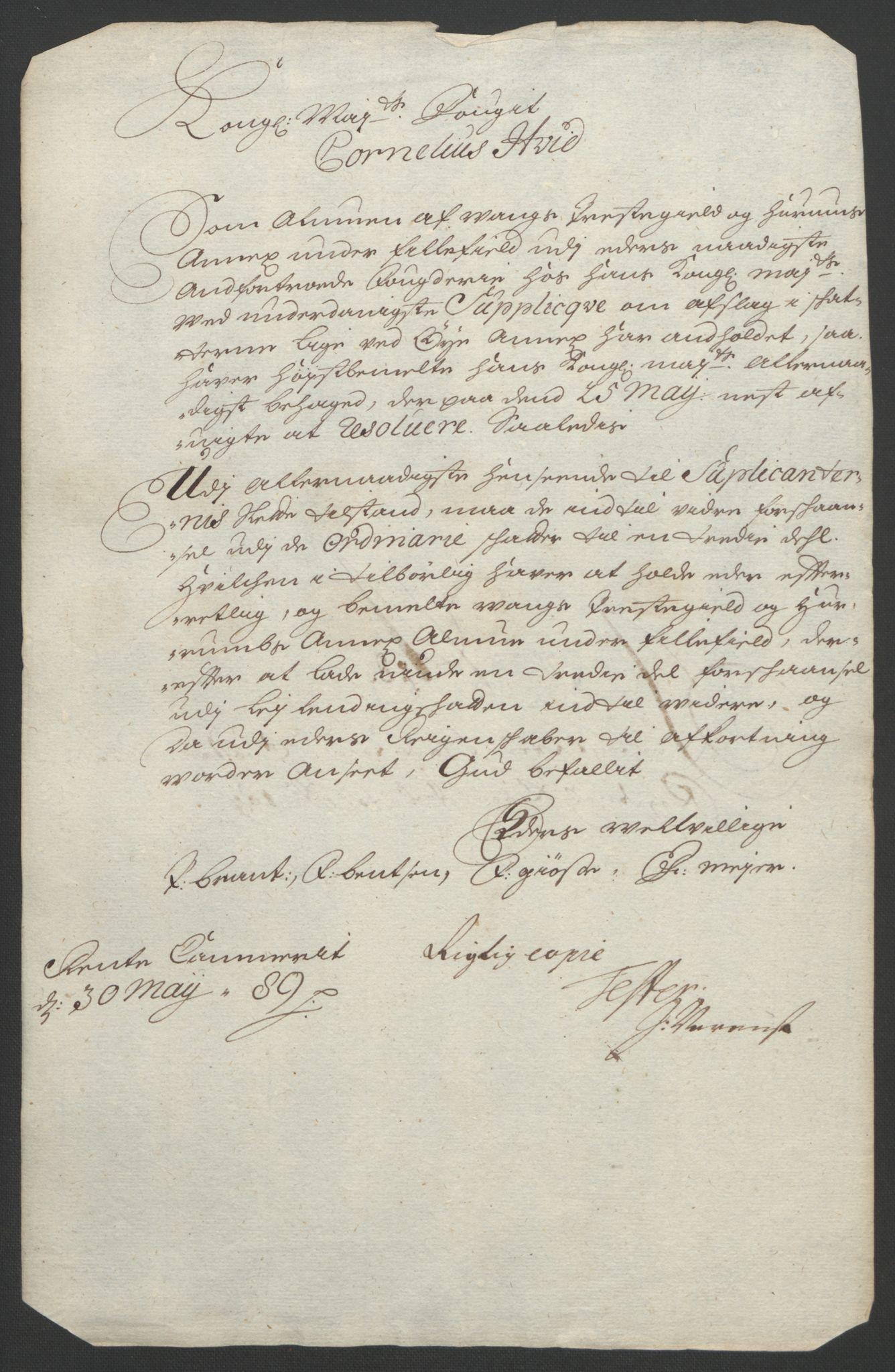 RA, Rentekammeret inntil 1814, Reviderte regnskaper, Fogderegnskap, R18/L1292: Fogderegnskap Hadeland, Toten og Valdres, 1693-1694, s. 153