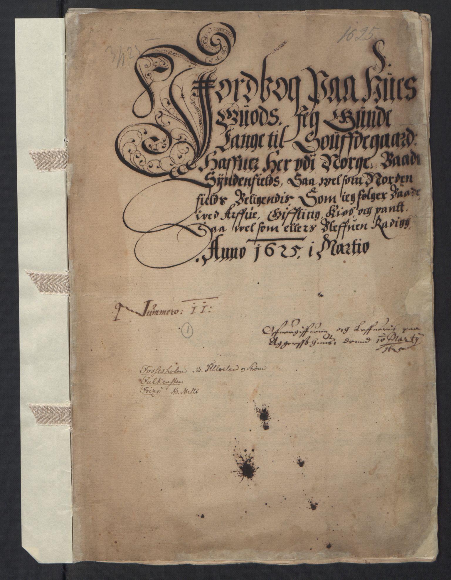 RA, Stattholderembetet 1572-1771, Ek/L0007: Jordebøker til utlikning av rosstjeneste 1624-1626:, 1624-1625, s. 55